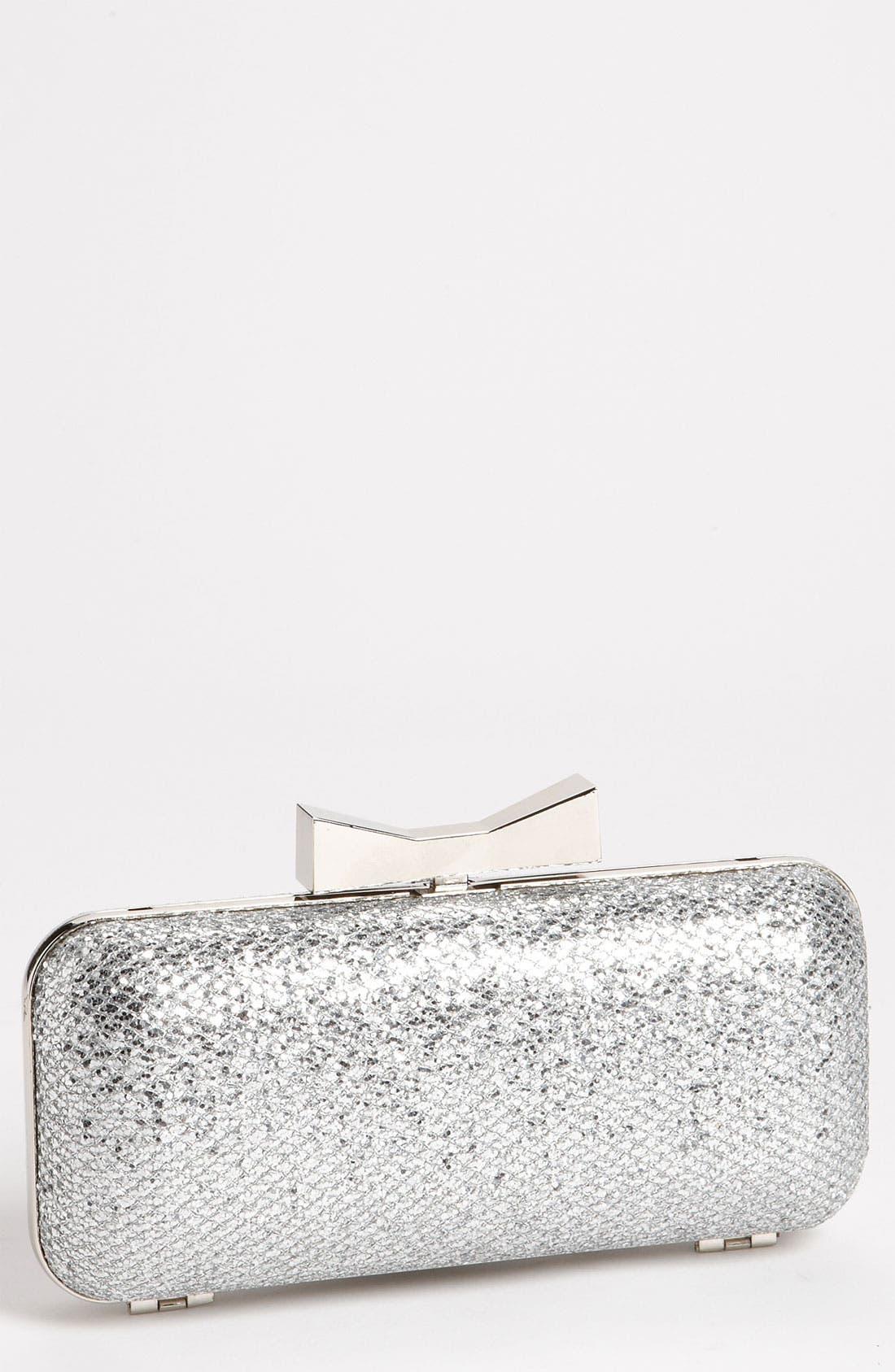 Alternate Image 1 Selected - Natasha Couture 'Glitter' Clutch