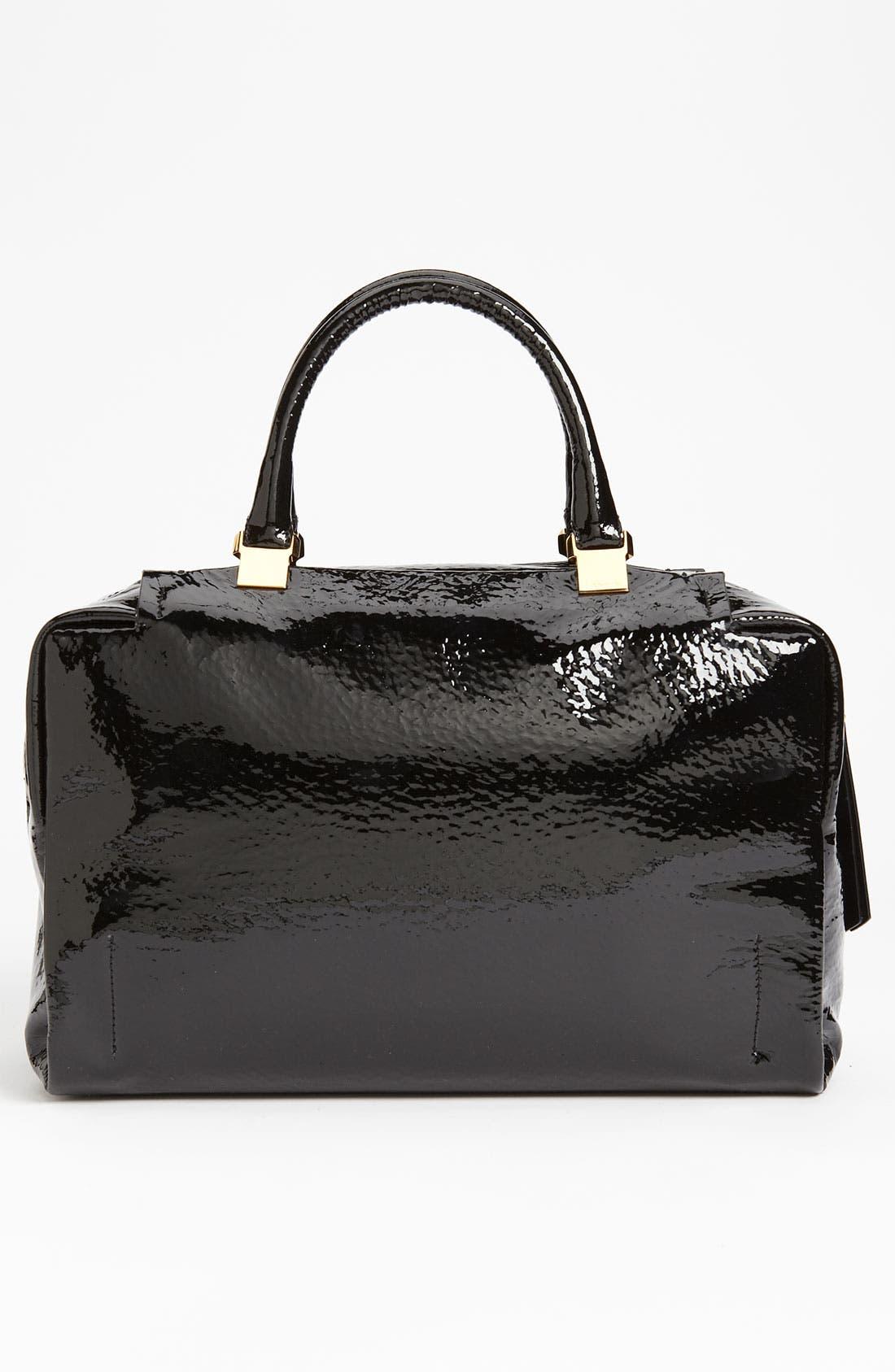 Alternate Image 4  - Lanvin 'Moon River' Patent Leather Satchel