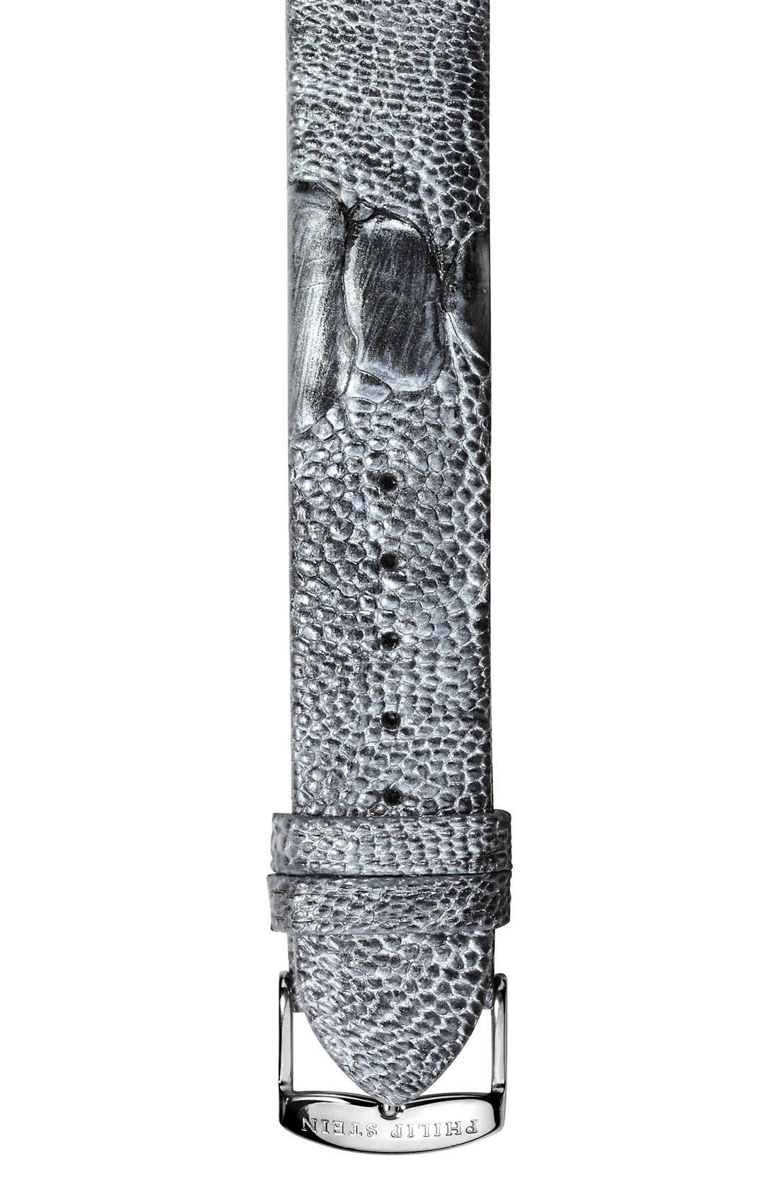 Main Image - Philip Stein® 18mm Ostrich Leather Strap
