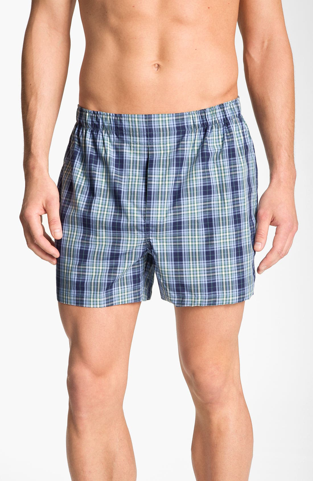 Main Image - Brooks Brothers Madras Boxers