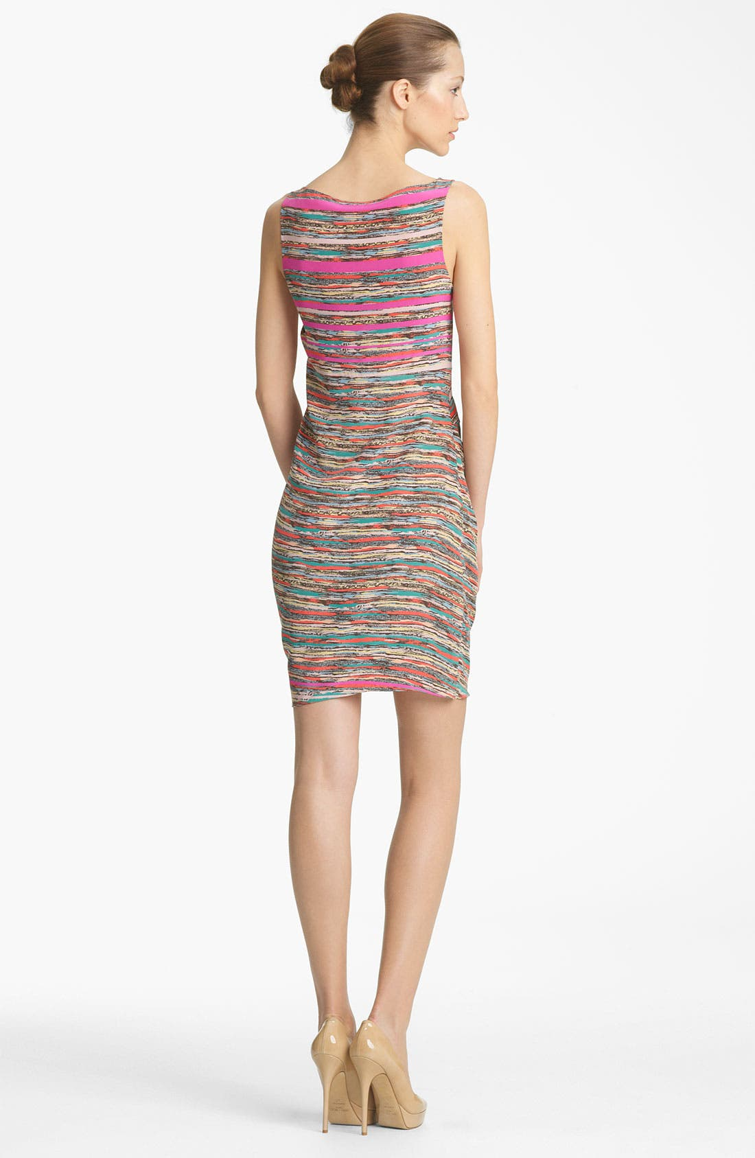 Alternate Image 2  - Thakoon Knot Detail Print Silk Dress
