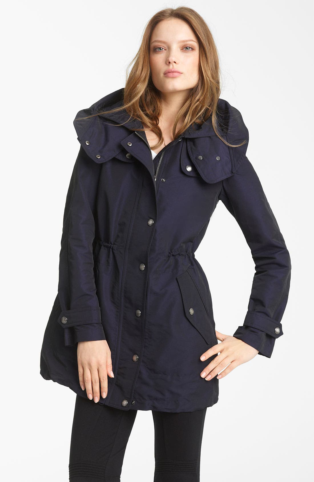 Alternate Image 1 Selected - Burberry Brit Hooded Anorak with Detachable Liner