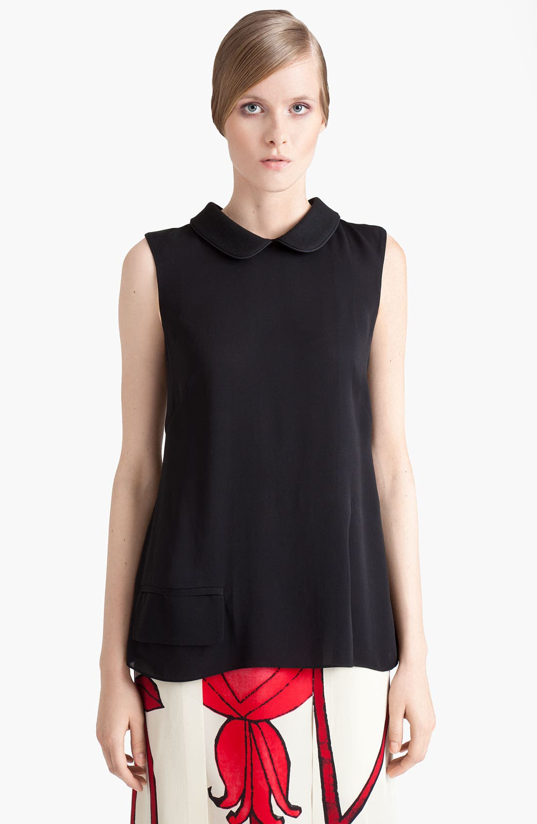 Alternate Image 1 Selected - Marni Sleeveless Woven Top