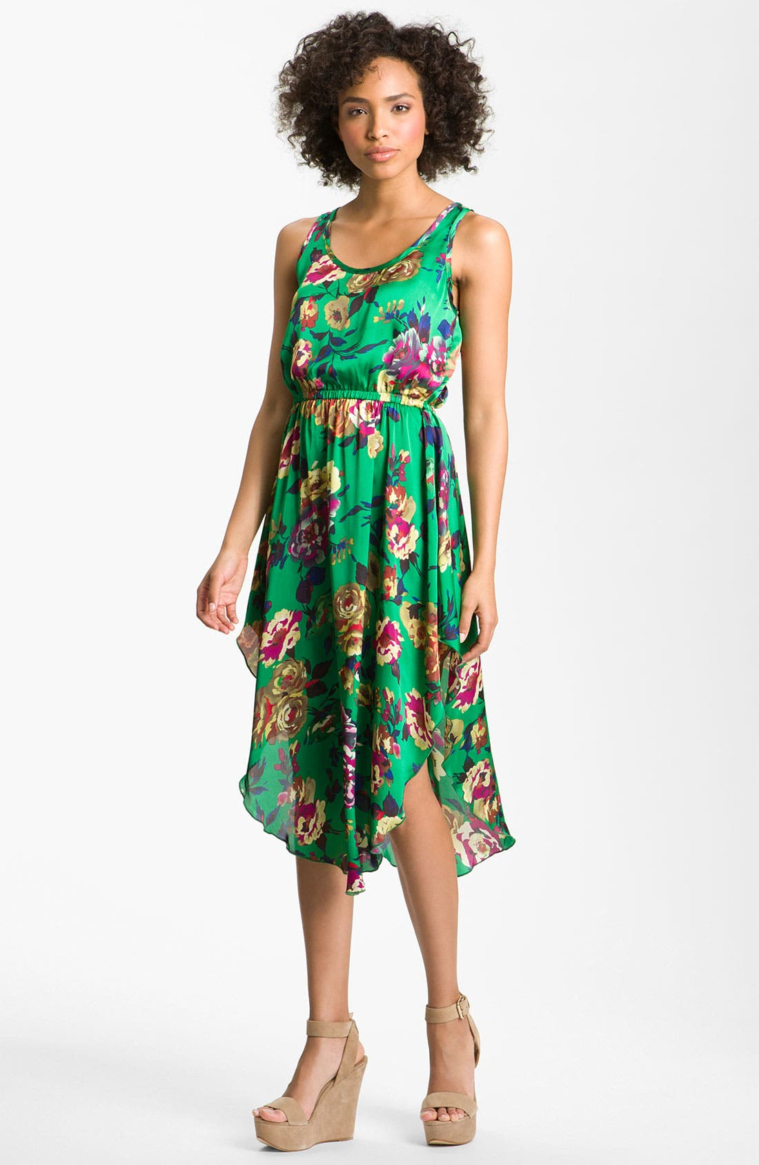 Main Image - Romeo & Juliet Couture Floral Dress