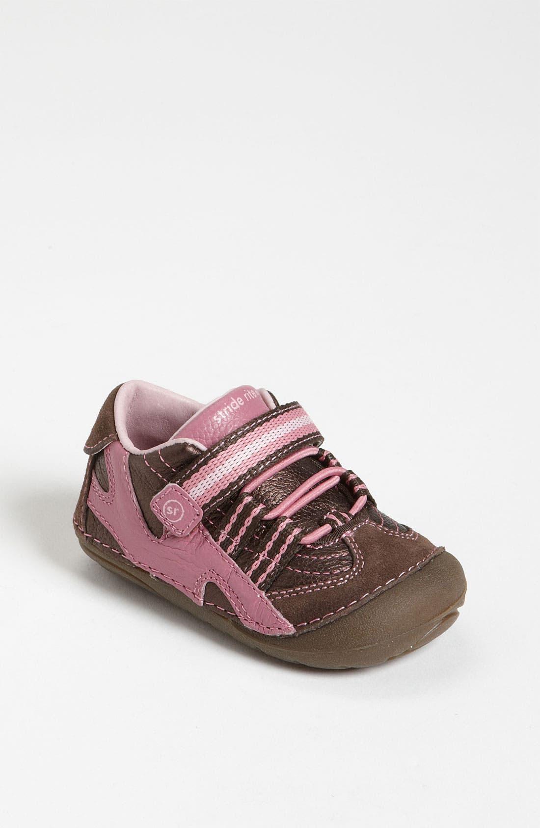 Alternate Image 1 Selected - Stride Rite 'Stephanie' Sneaker (Baby & Walker)
