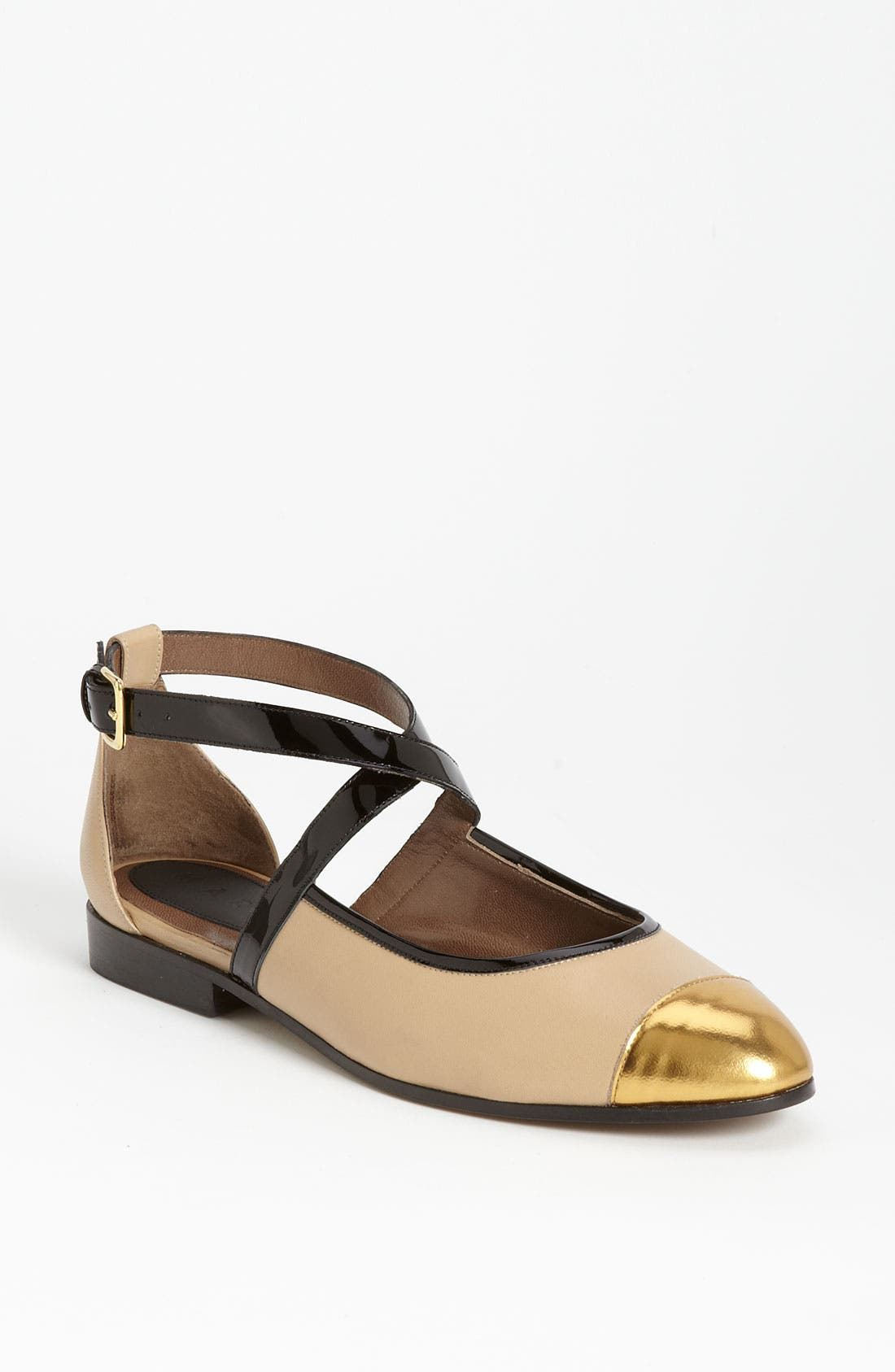 Alternate Image 1 Selected - Marni 'Criss Cross' Flat