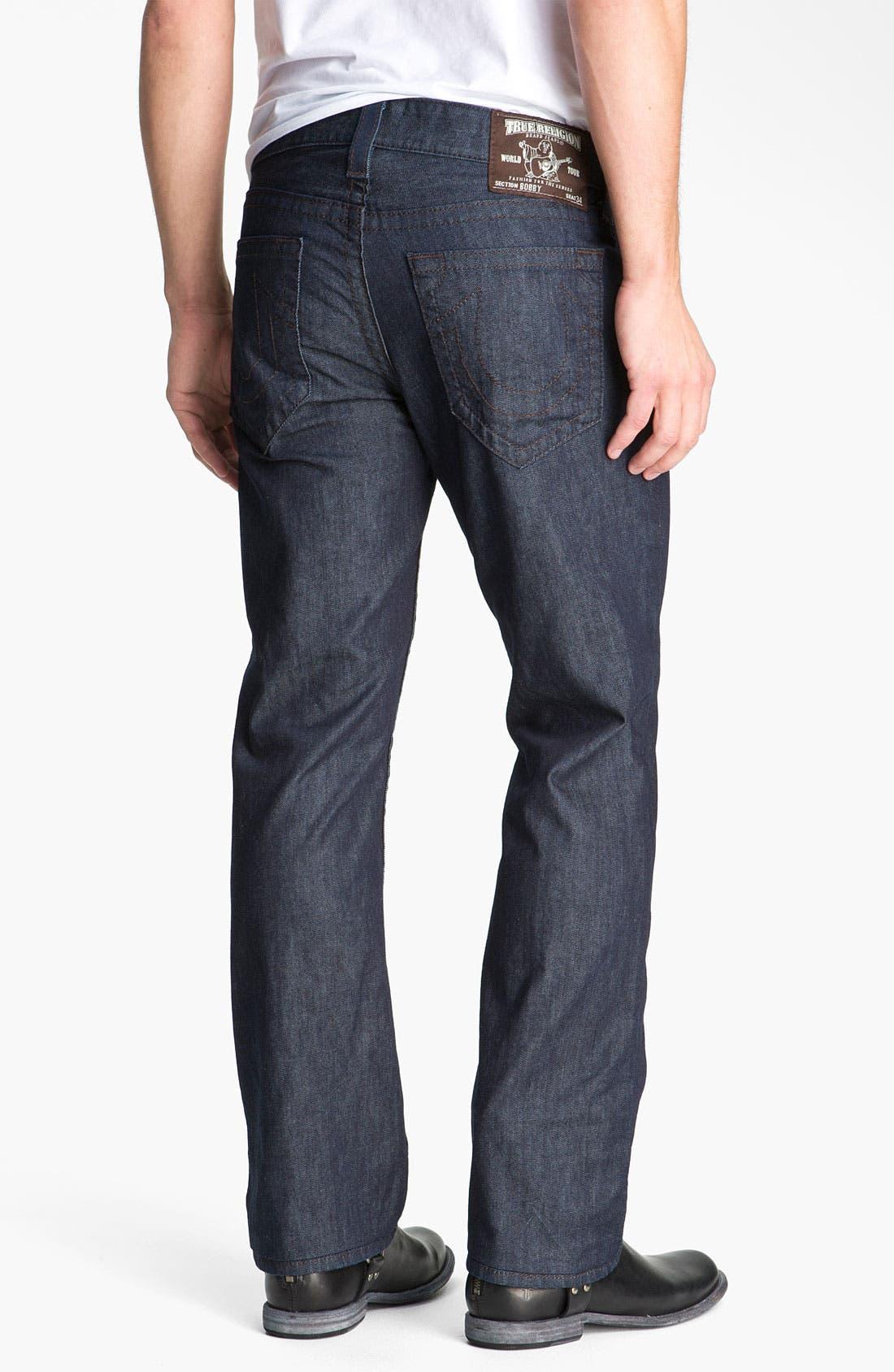 Alternate Image 1 Selected - True Religion Brand Jeans 'Bobby' Straight Leg Jeans (Bodyrinse)