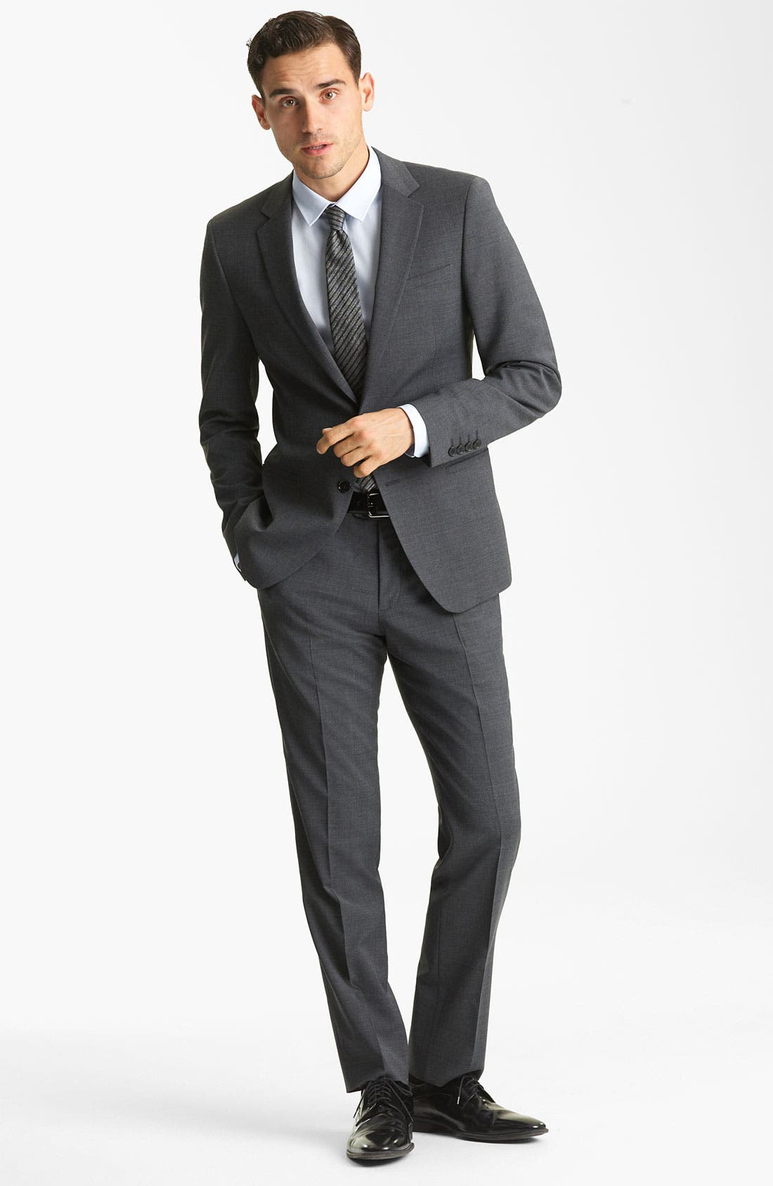 Alternate Image 3  - Dolce&Gabbana Solid Suit