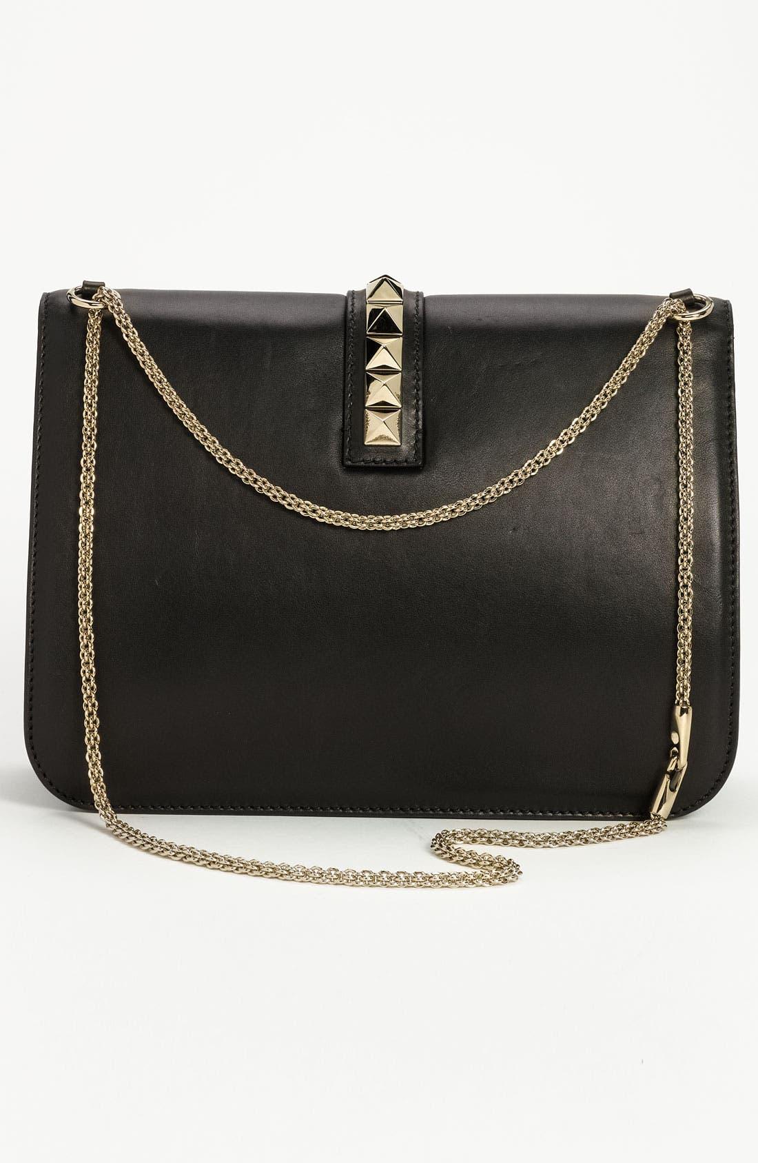Alternate Image 4  - Valentino 'Grande Lock' Leather Shoulder Bag