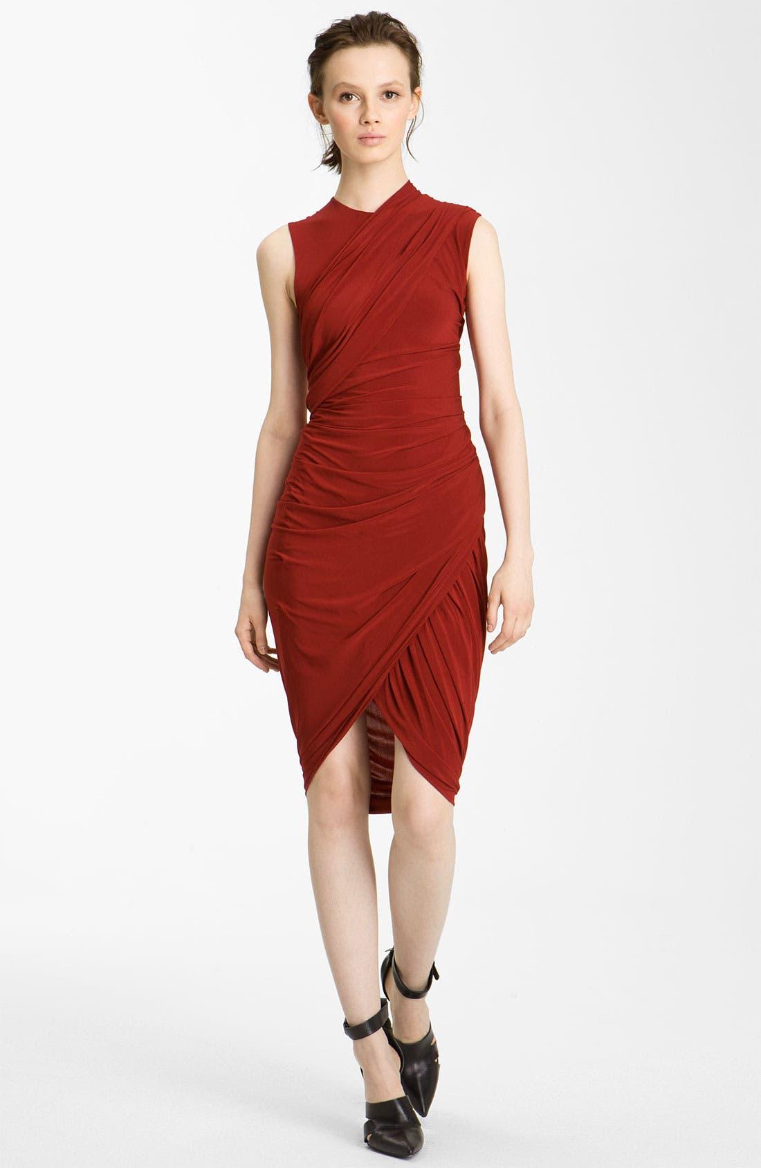 Alternate Image 1 Selected - Alexander Wang Gathered Jersey Dress