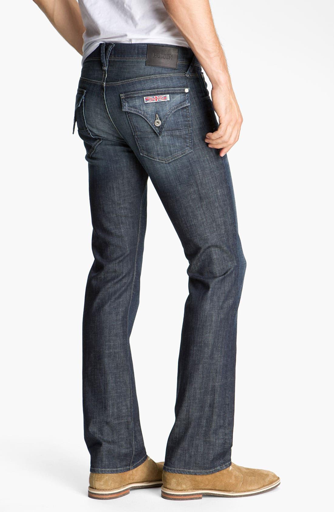 Main Image - Hudson Jeans 'Clifton' Bootcut Jeans (Rockshire)