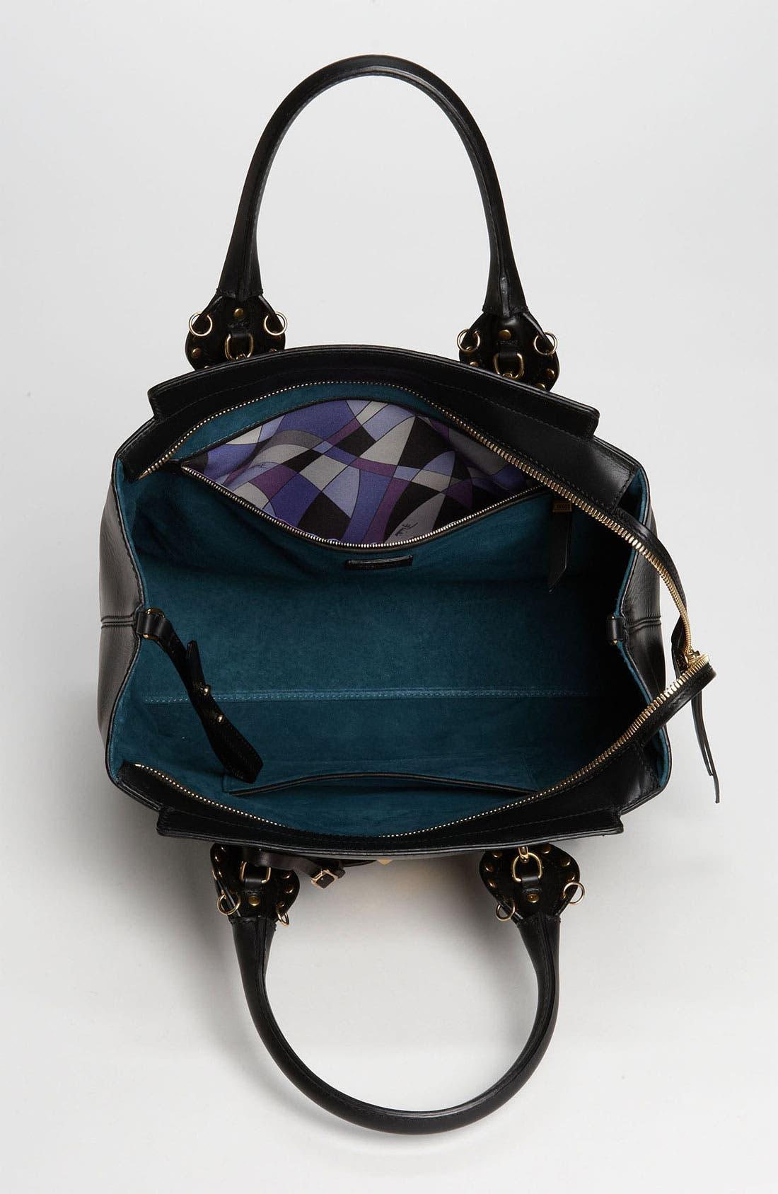 Alternate Image 3  - Emilio Pucci Leather Satchel