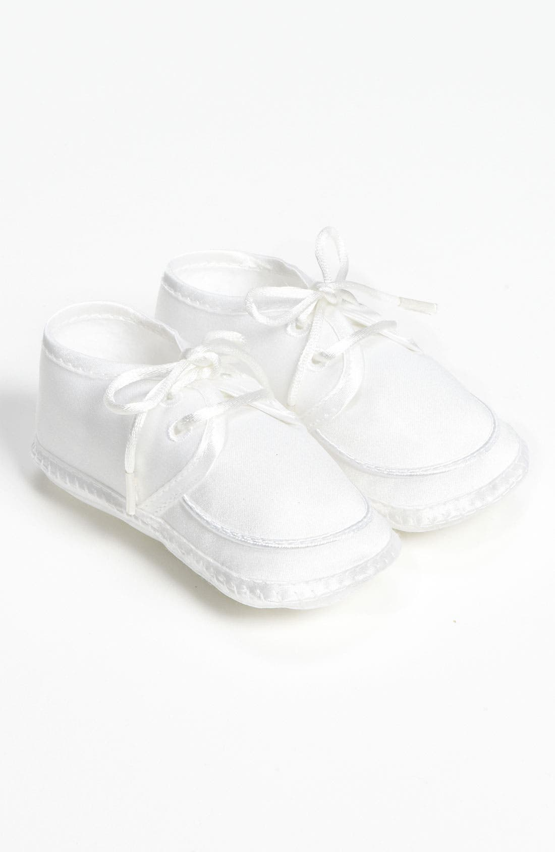 Alternate Image 1 Selected - Little Things Mean a Lot Matte Satin Shoe (Baby)