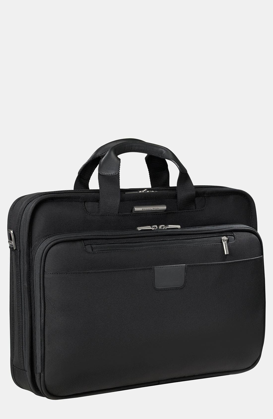 Alternate Image 1 Selected - Briggs & Riley 'Work - Large Slim' Briefcase