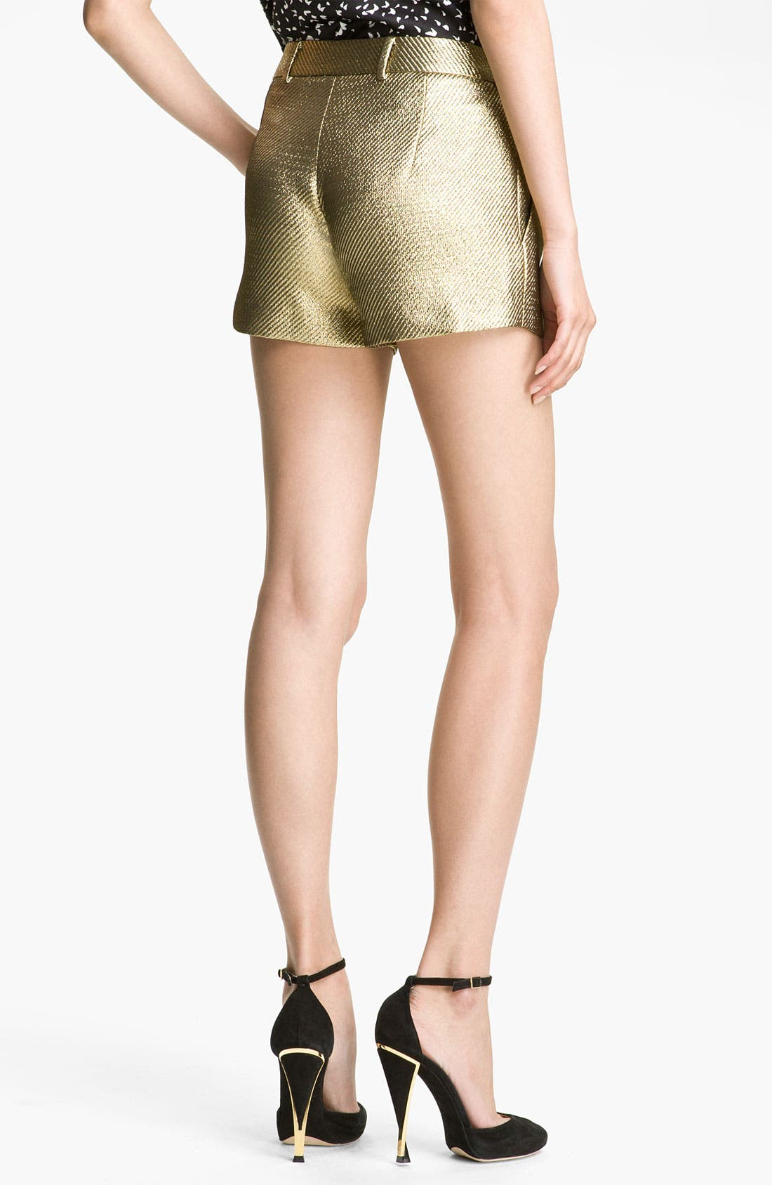 'Naples' Shorts,                             Alternate thumbnail 2, color,                             Gold