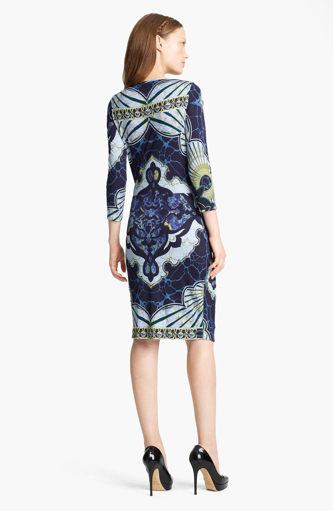Alternate Image 2  - Emilio Pucci Drape Front Jersey Dress