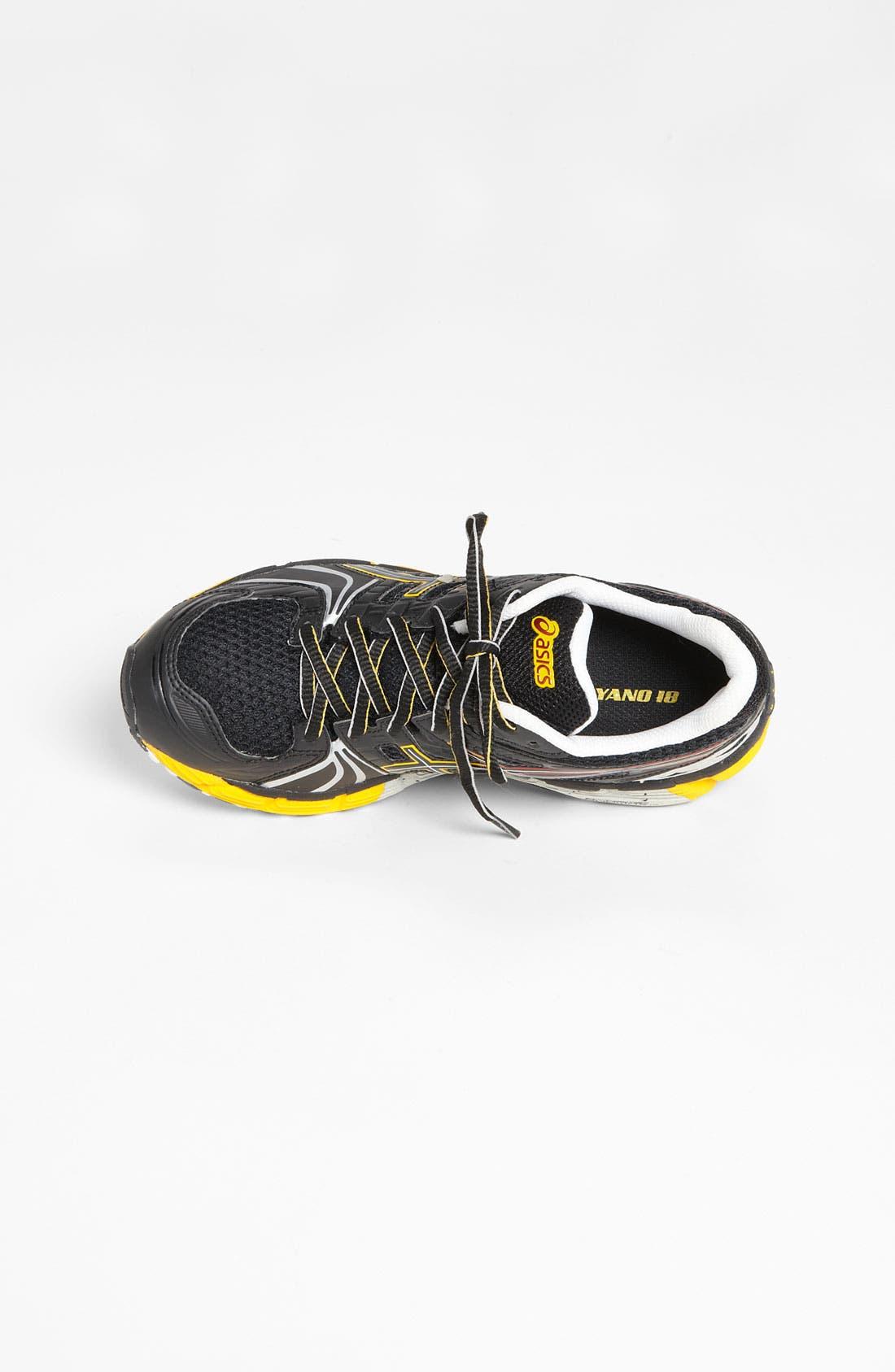 Alternate Image 3  - ASICS® 'GEL-Kayano 18' Training Shoe (Big Kid)