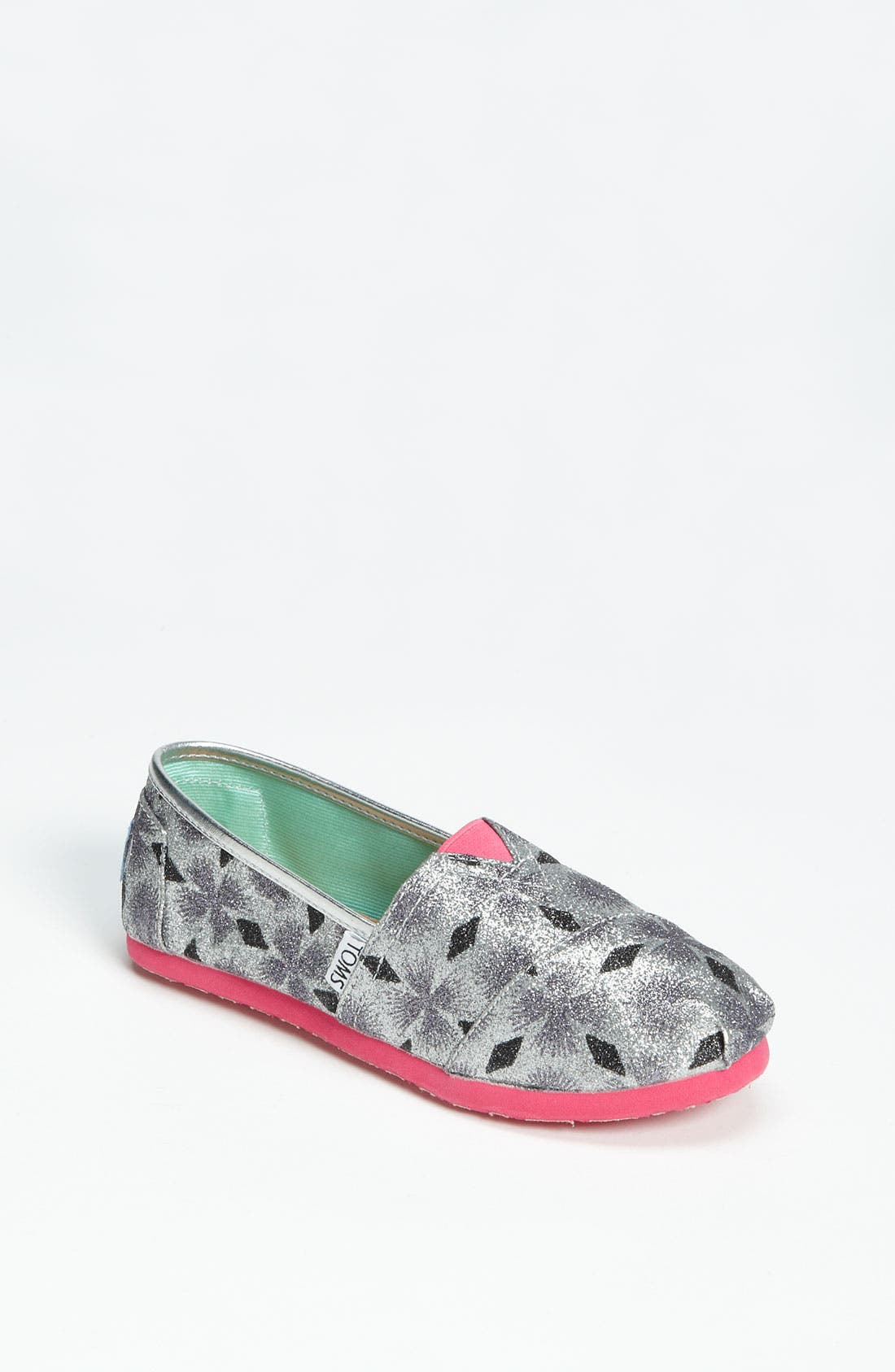 Main Image - TOMS 'Classic Youth - Starburst' Slip-On (Little Kid & Big Kid) (Nordstrom Exclusive)