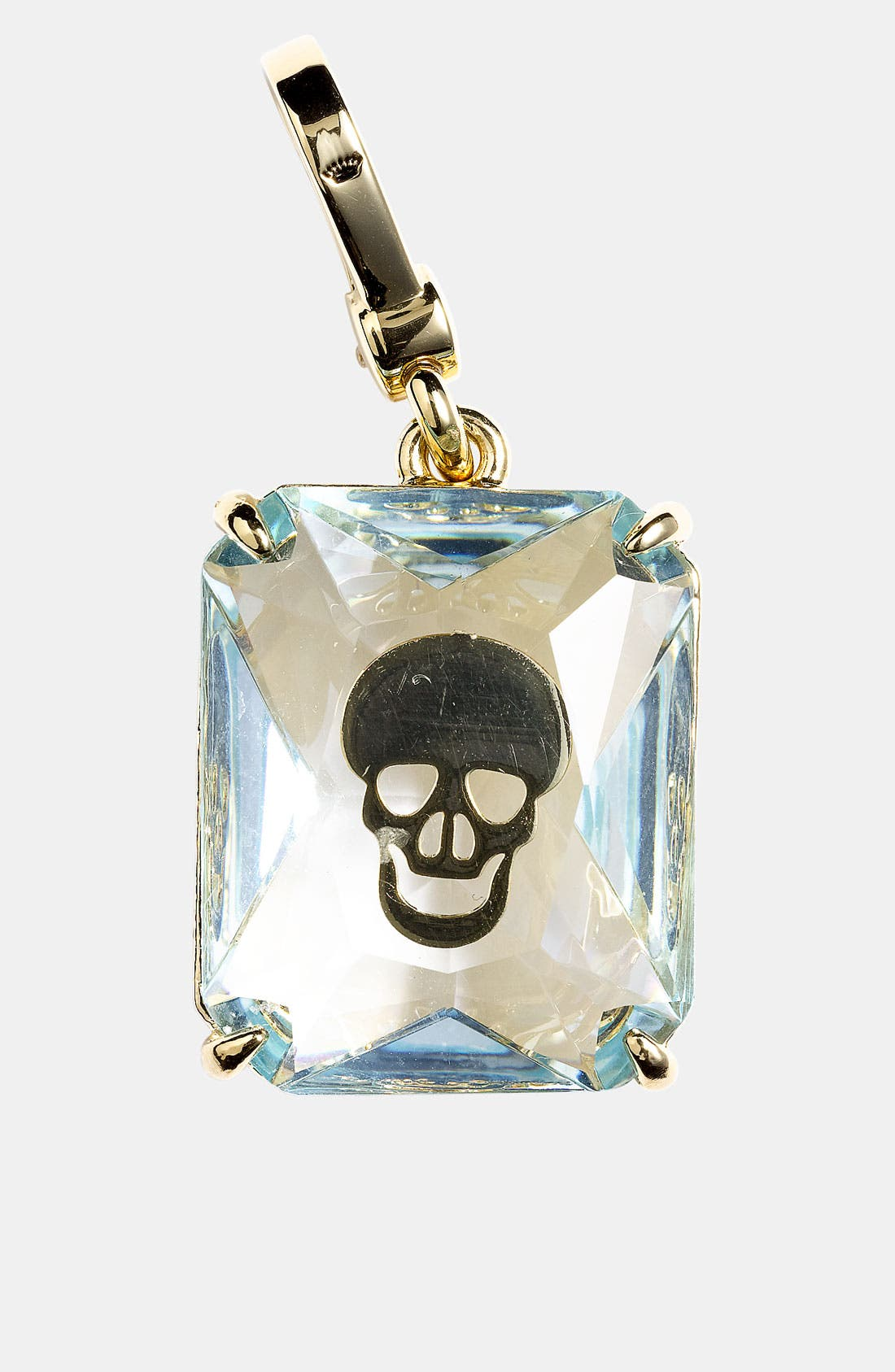 Main Image - Juicy Couture Skull Engraved Stone Charm