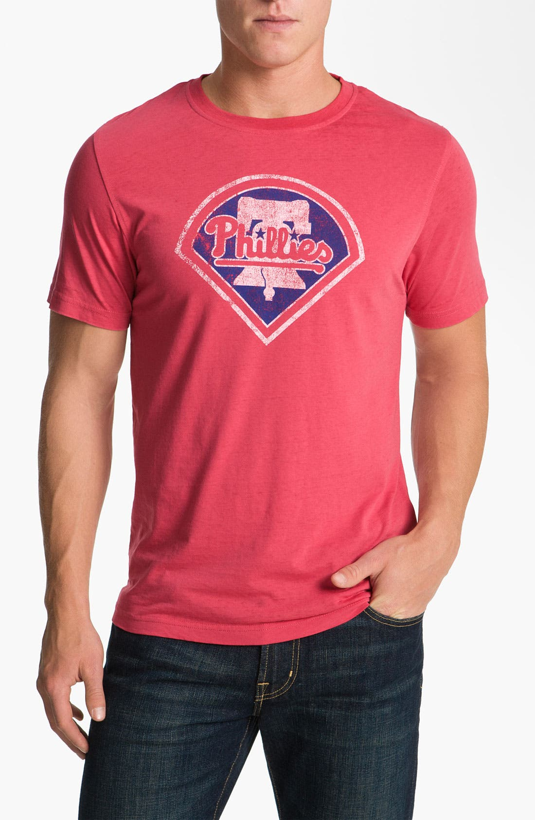 Alternate Image 1 Selected - Red Jacket 'Phillies - Greenwood' T-Shirt