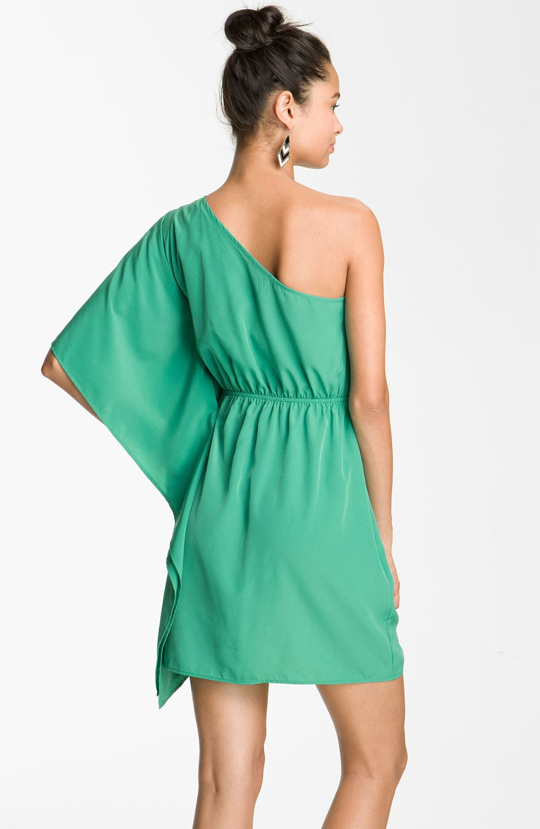 Alternate Image 2  - Soprano One Shoulder Dress (Juniors)