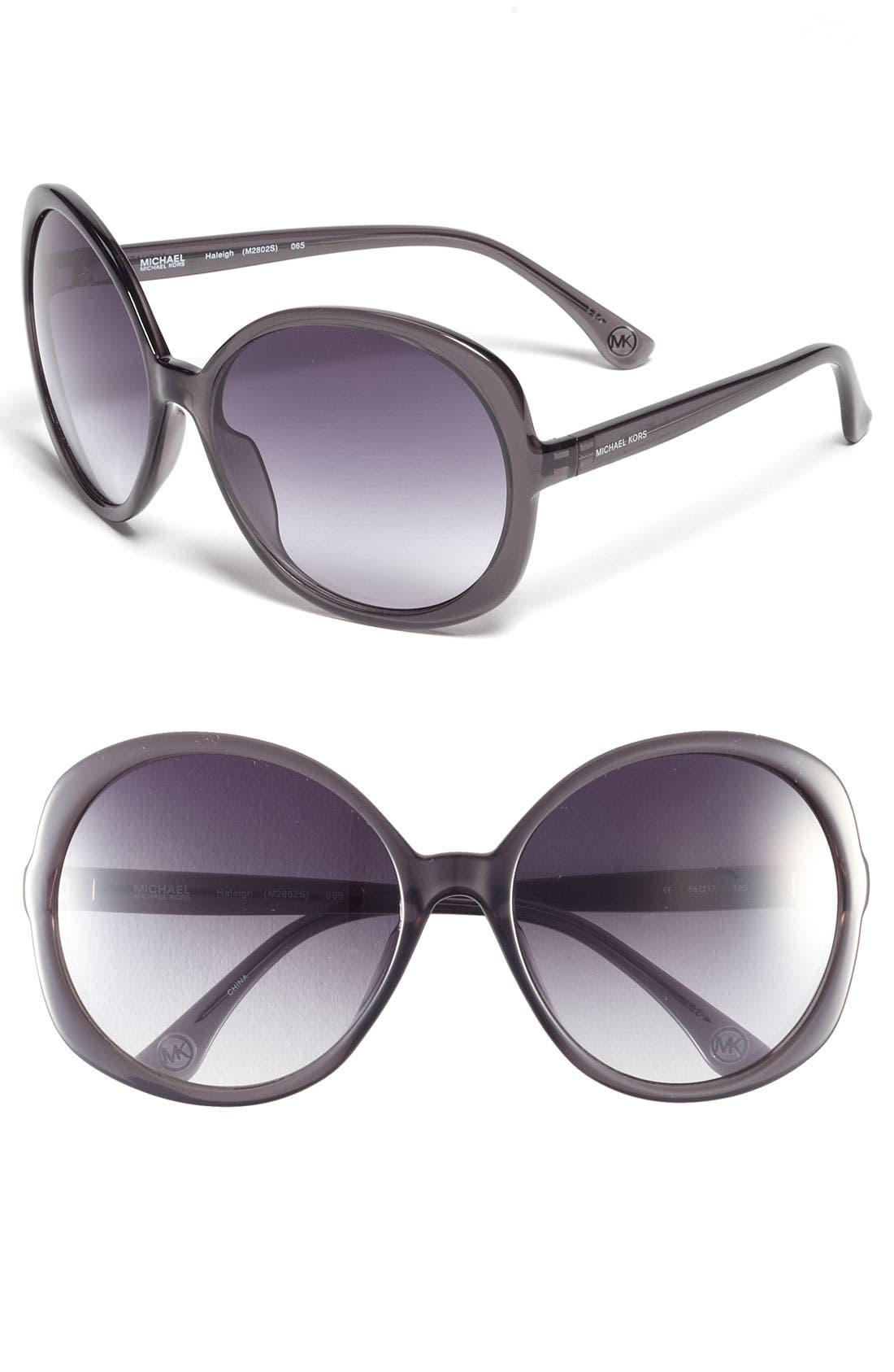 Alternate Image 1 Selected - MICHAEL Michael Kors 58mm Oversized Sunglasses