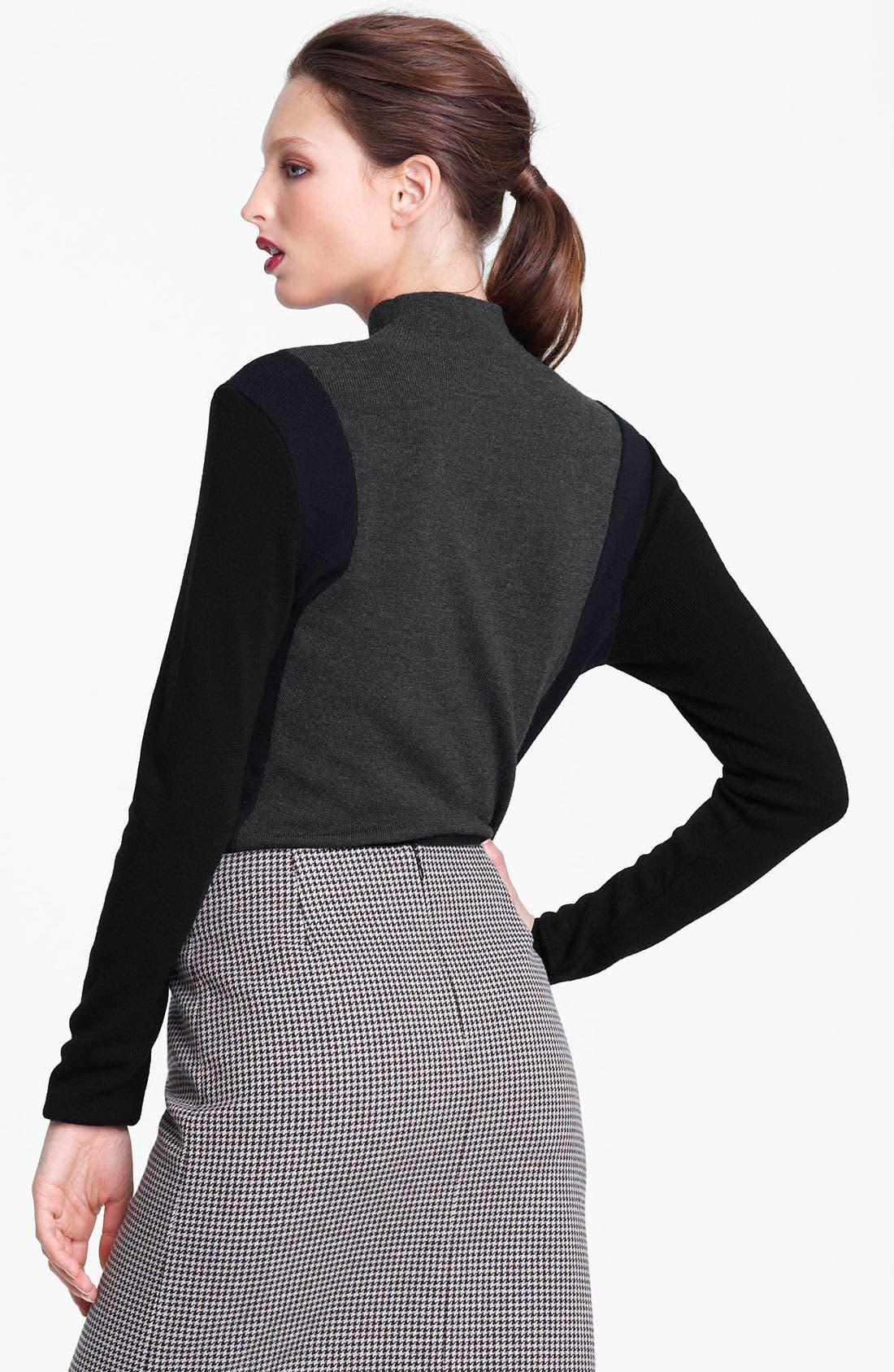 Alternate Image 2  - Marni Edition Mock Neck Colorblock Sweater