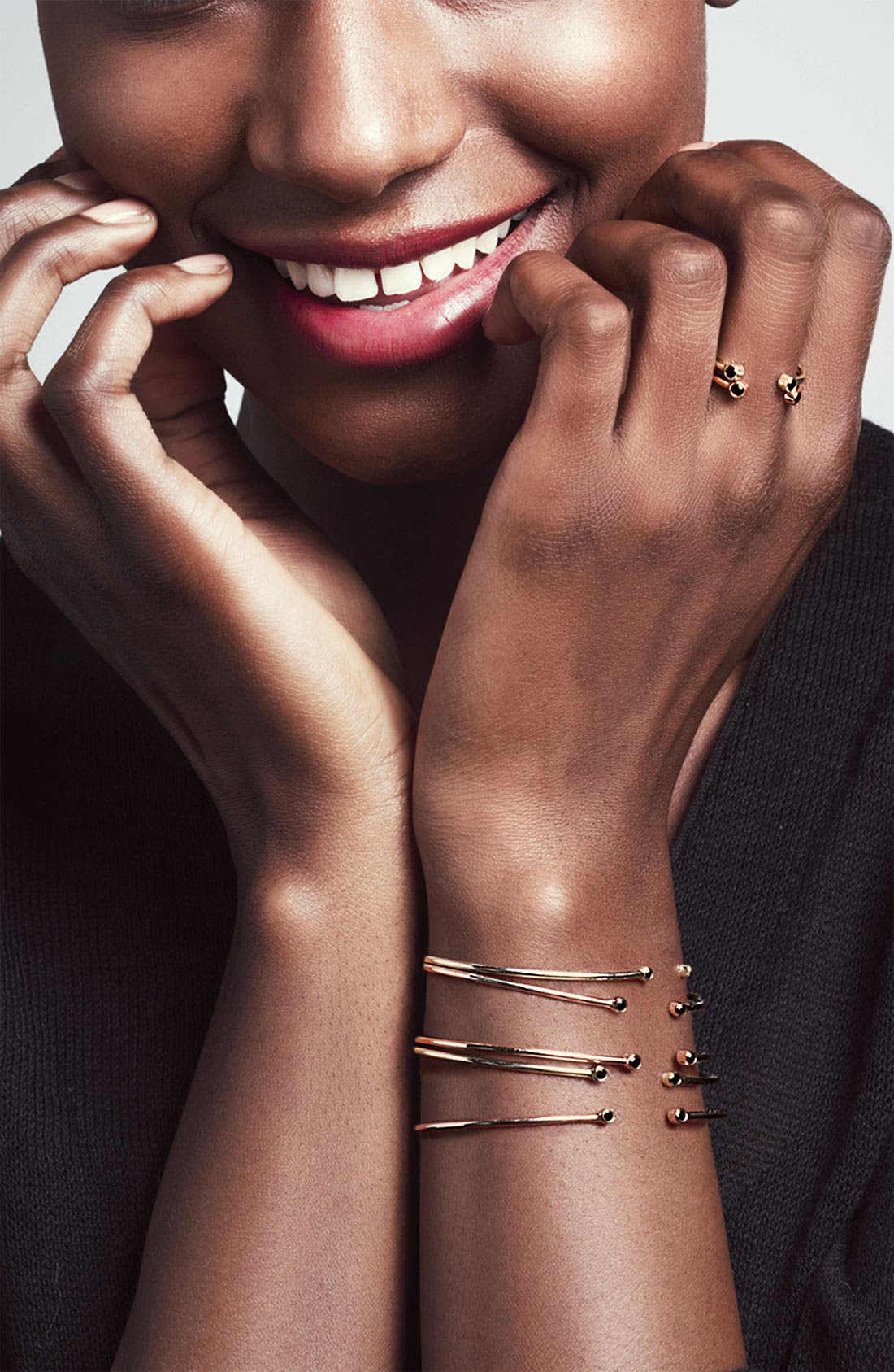 Alternate Image 2  - Lana Jewelry 'Echo' Black Diamond Bracelet (Nordstrom Exclusive)