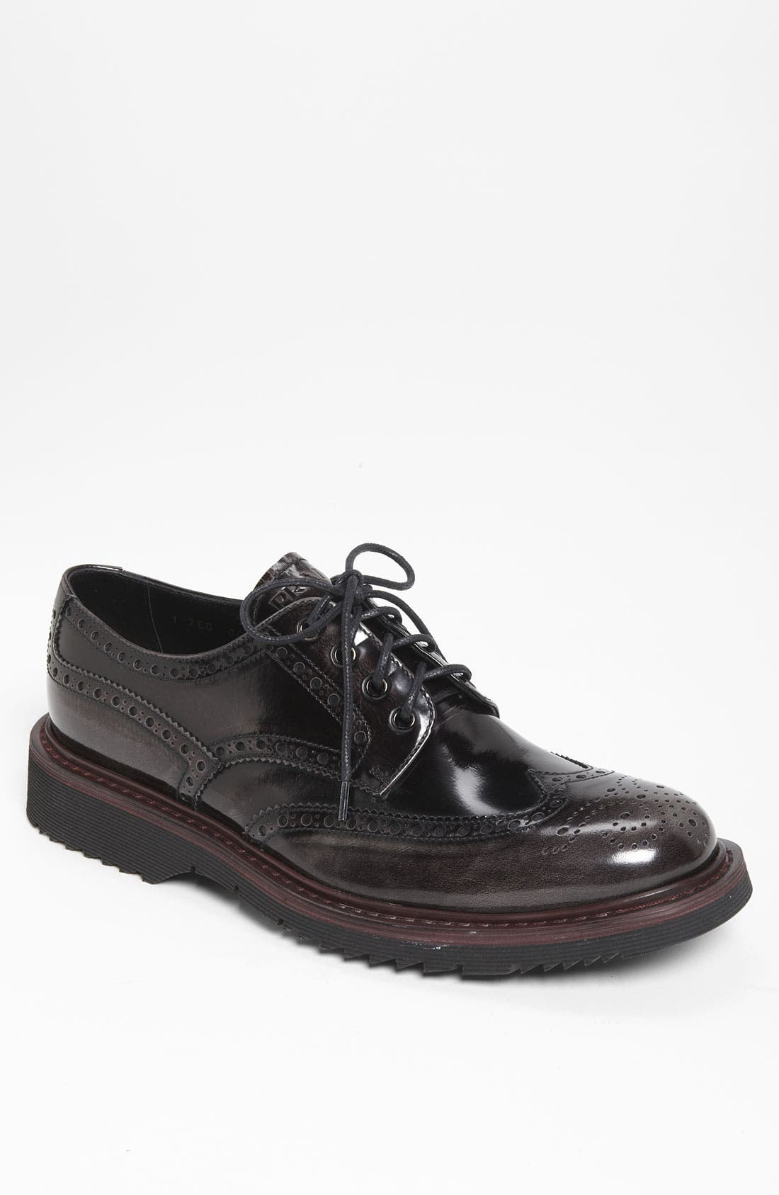 Alternate Image 1 Selected - Prada Double Sole Wingtip