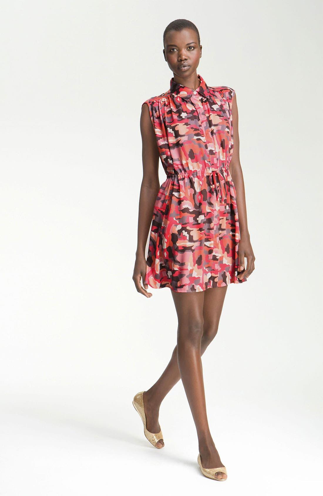 Main Image - Thakoon Addition Camo Print Shirtdress