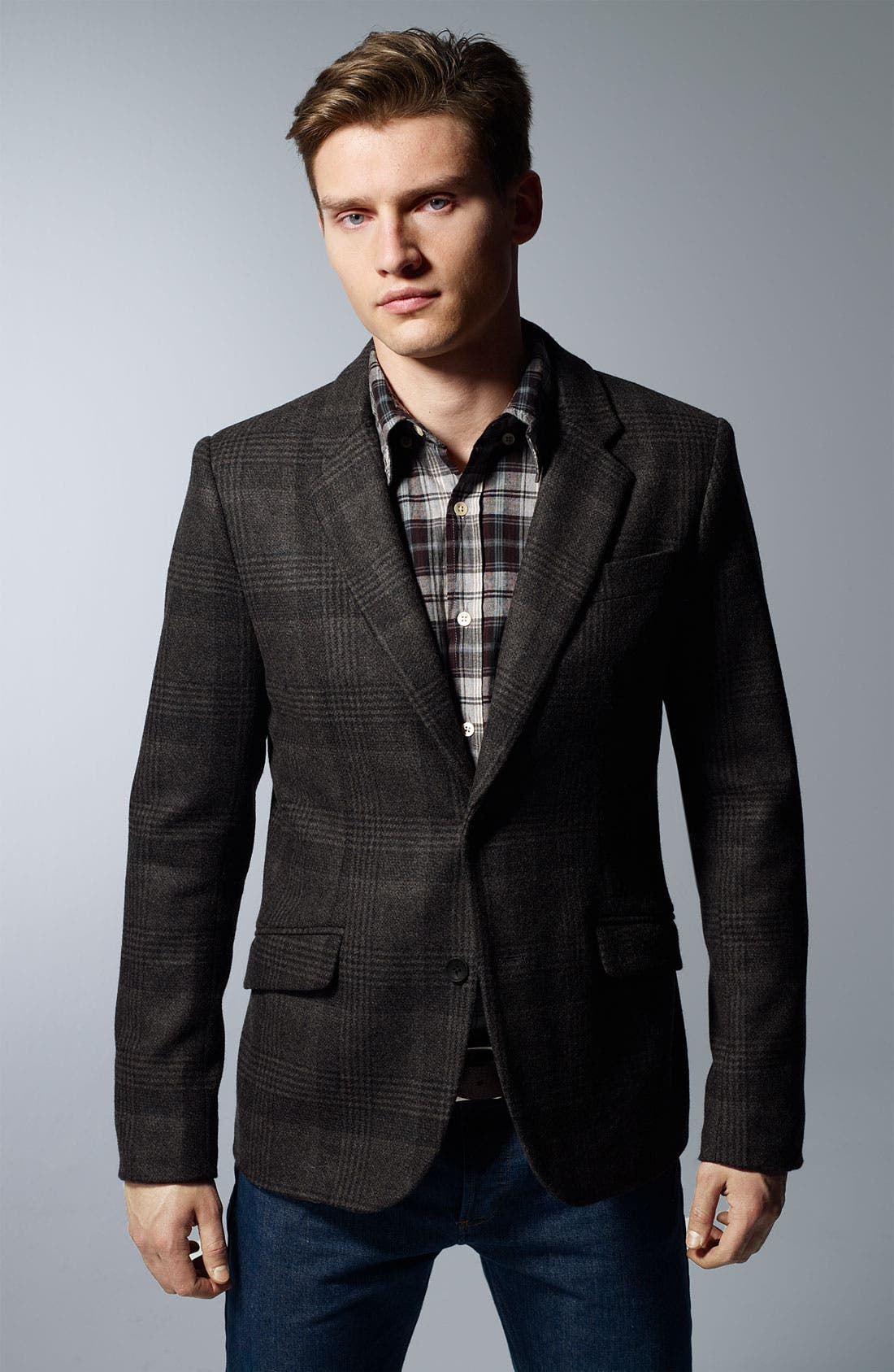 Alternate Image 5  - Steven Alan Glen Plaid Blazer