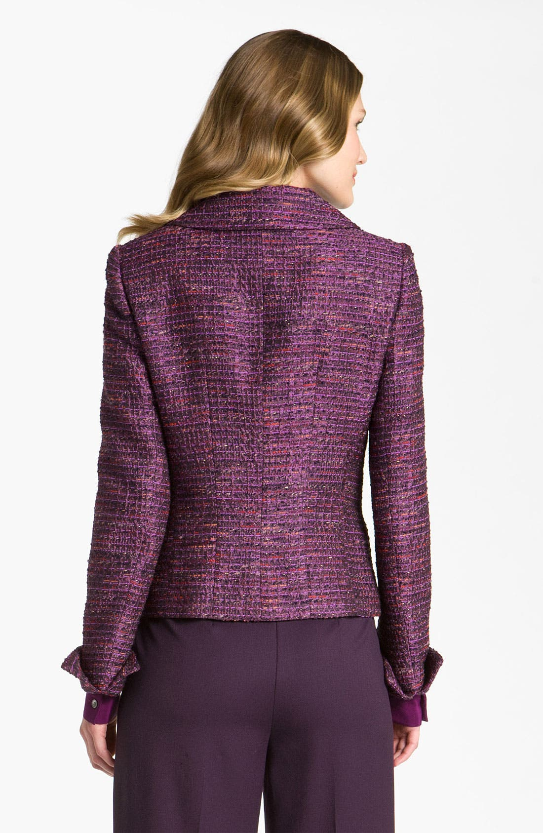 Alternate Image 2  - Lafayette 148 New York 'Melodic' Tweed Jacket