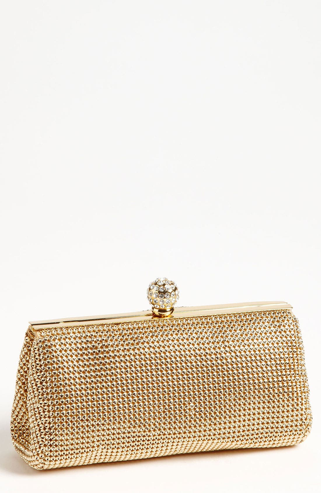 Alternate Image 1 Selected - Whiting & Davis 'Crystal' Mesh Clutch
