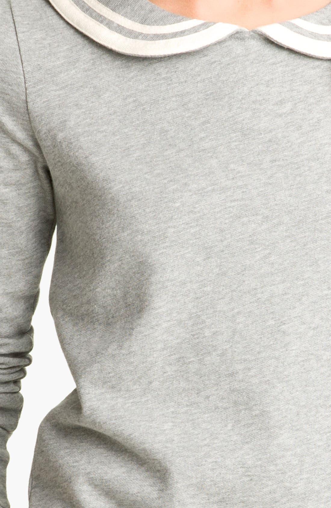 Alternate Image 3  - BP. Peter Pan Collar Sweatshirt (Juniors)