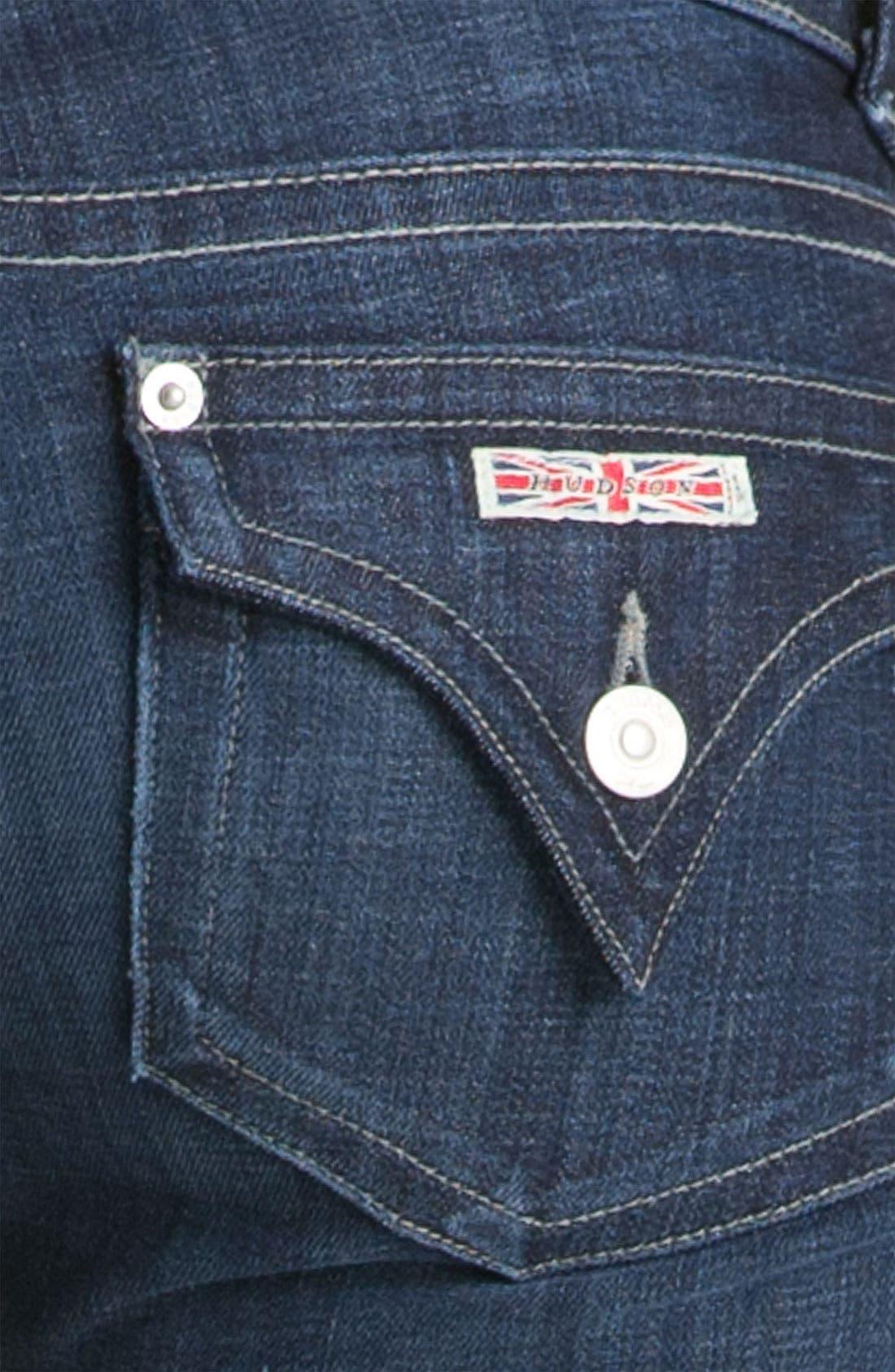 Alternate Image 3  - Hudson Jeans Signature Flap Pocket Bootcut Jeans (Bowery)
