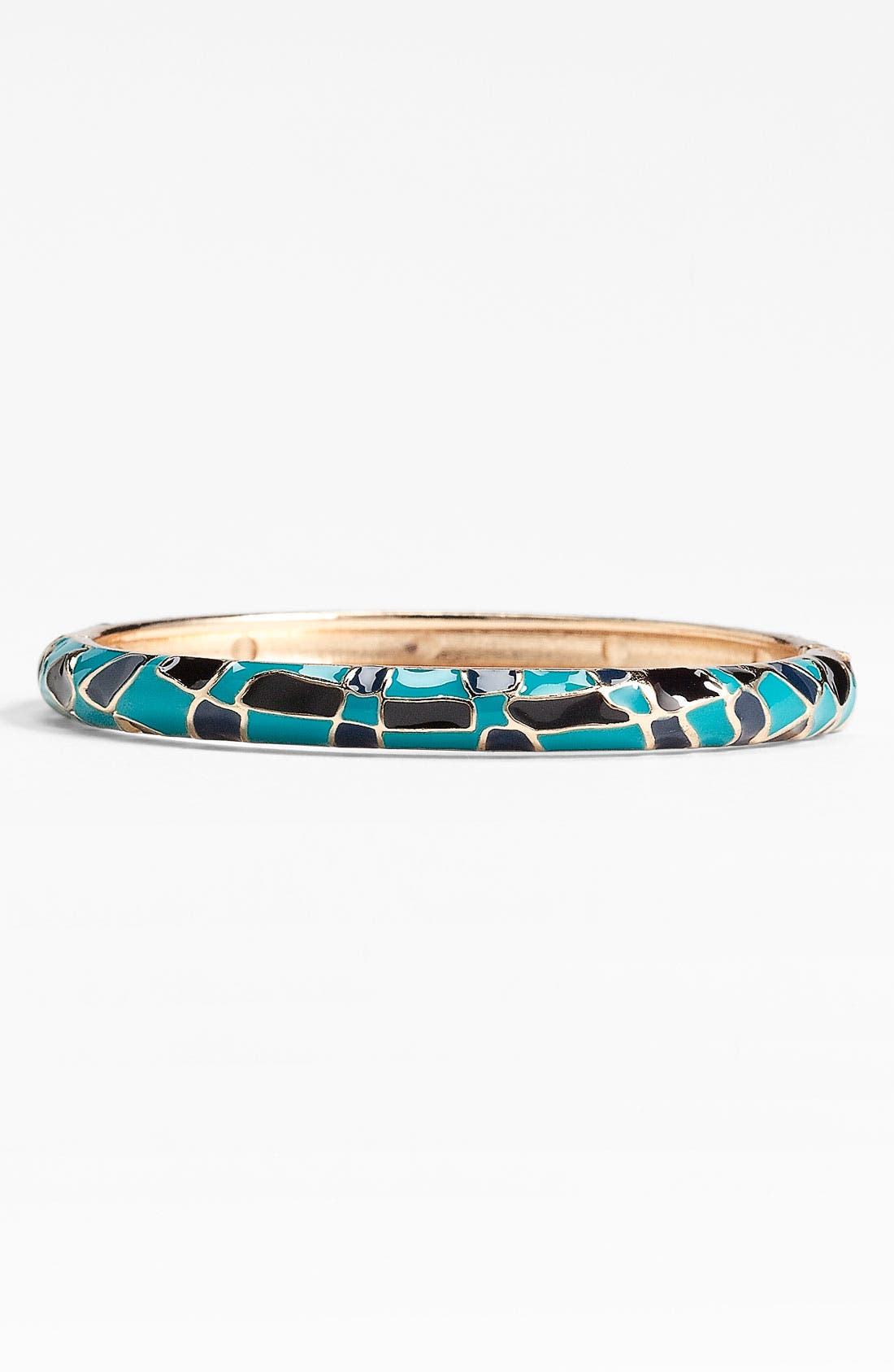 Main Image - Sequin Small Checker Tile Enamel Bangle