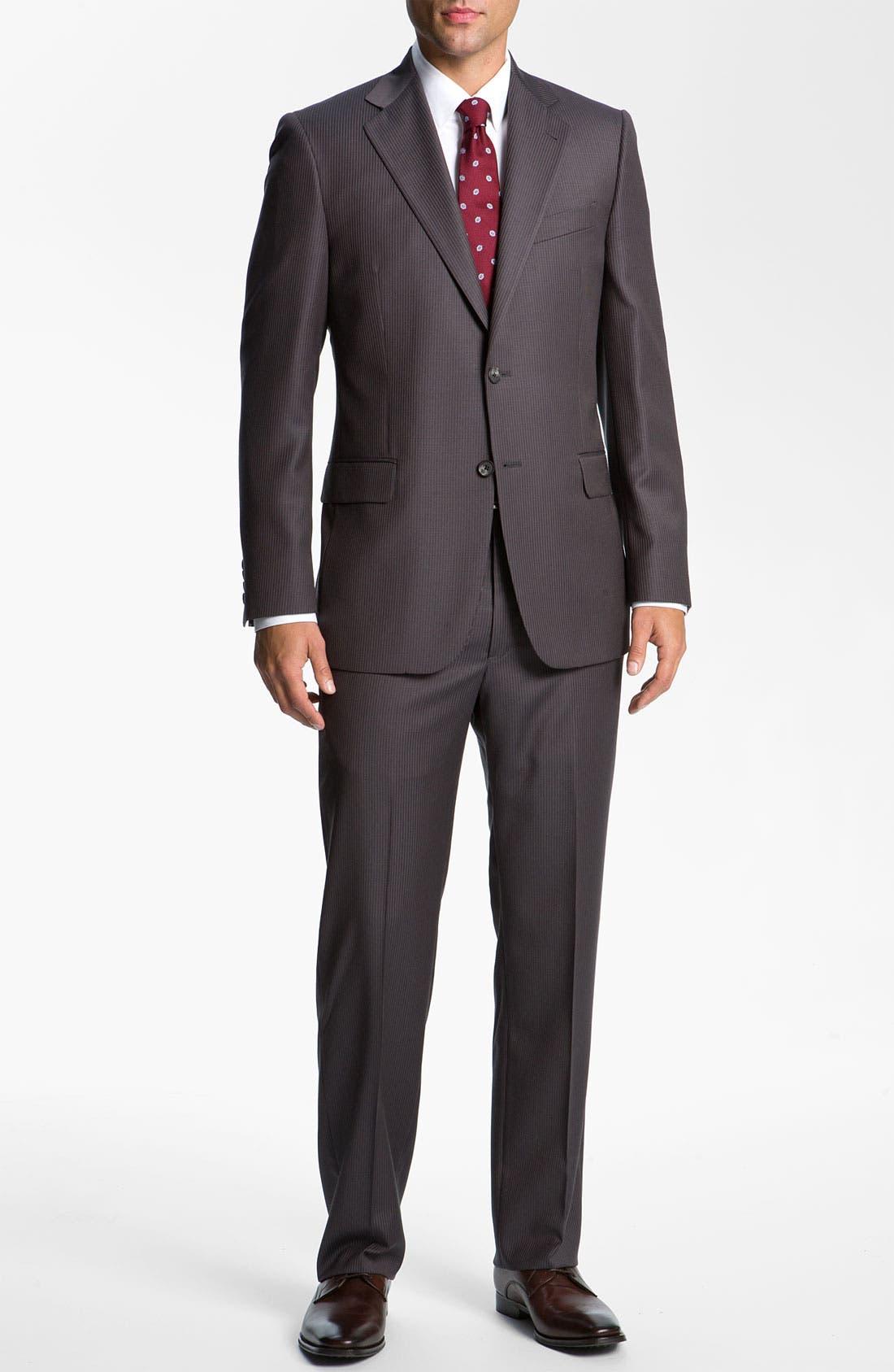 Alternate Image 2  - Joseph Abboud Pinstripe Suit
