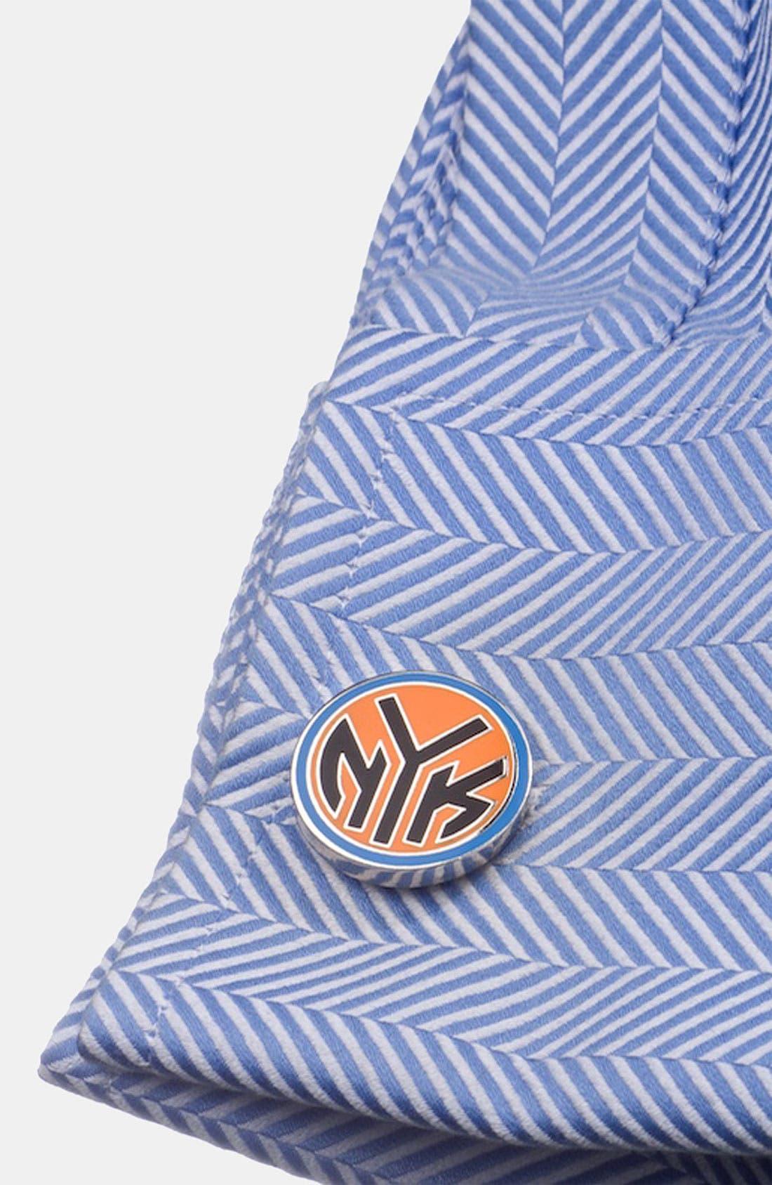 Alternate Image 2  - Cufflinks, Inc. 'New York Knicks' Cuff Links