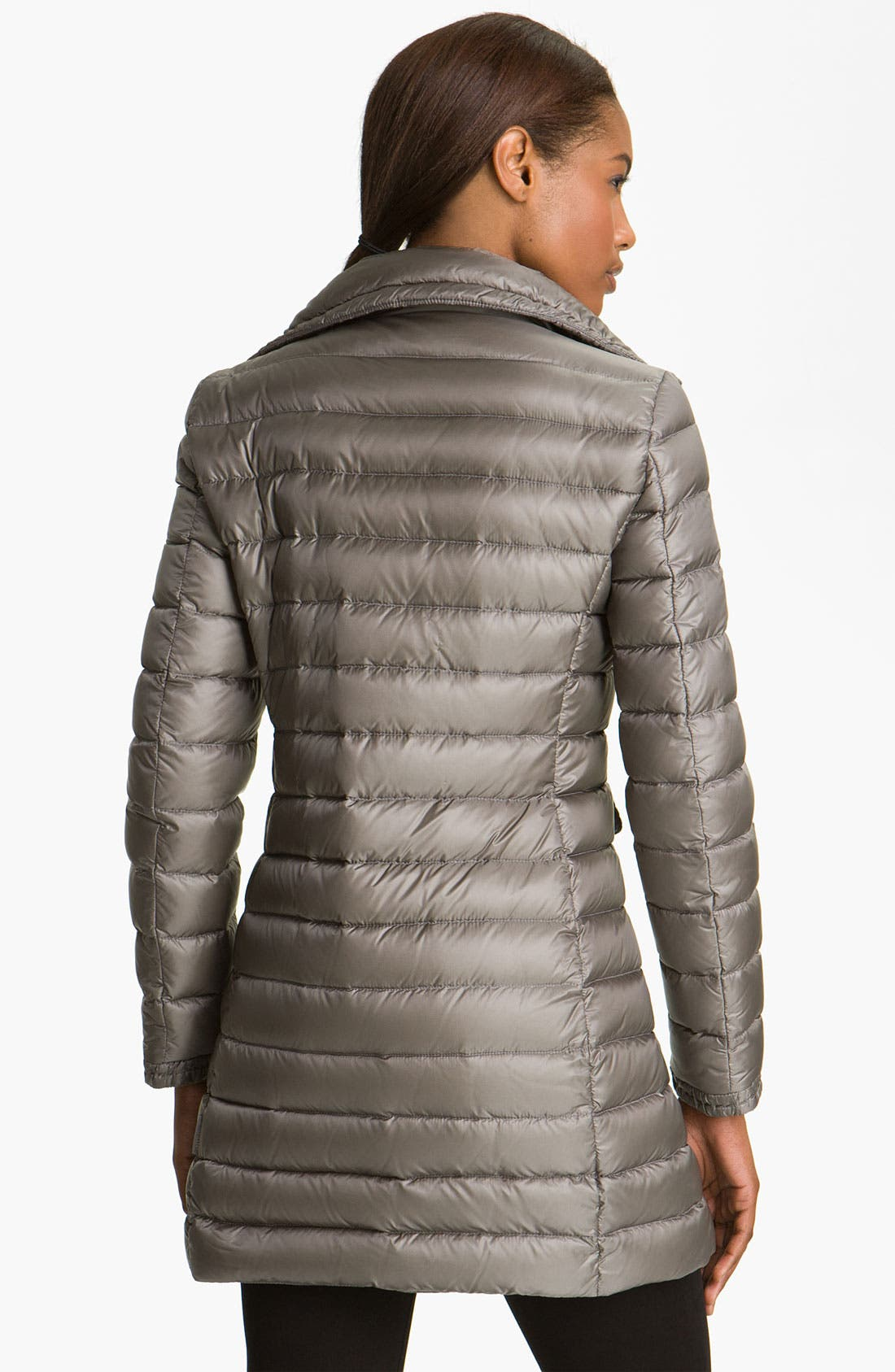 Alternate Image 2  - Moncler 'Vanneau' Fitted Down Coat