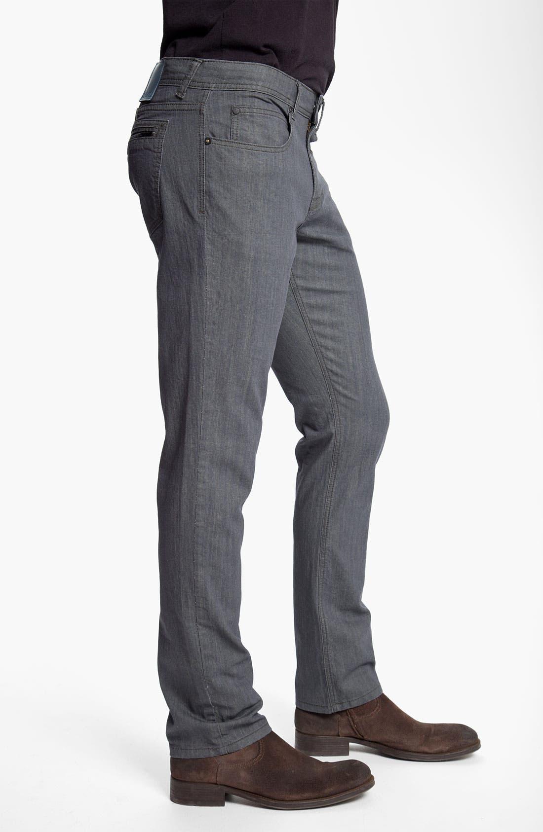 Alternate Image 3  - Ezekiel 'Chopper 305' Slim Straight Leg Jeans