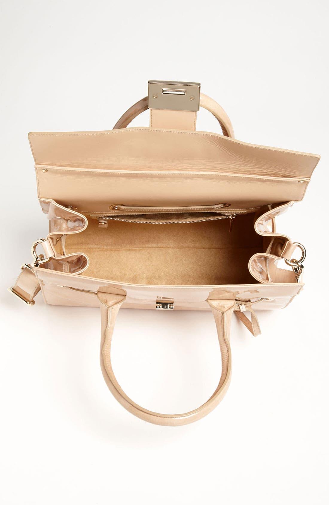 Alternate Image 3  - Jimmy Choo 'Rosalie' Patent Leather Satchel