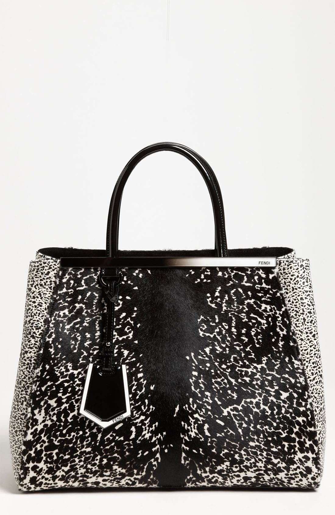 Main Image - Fendi '2Jours' Calf Hair Shopper