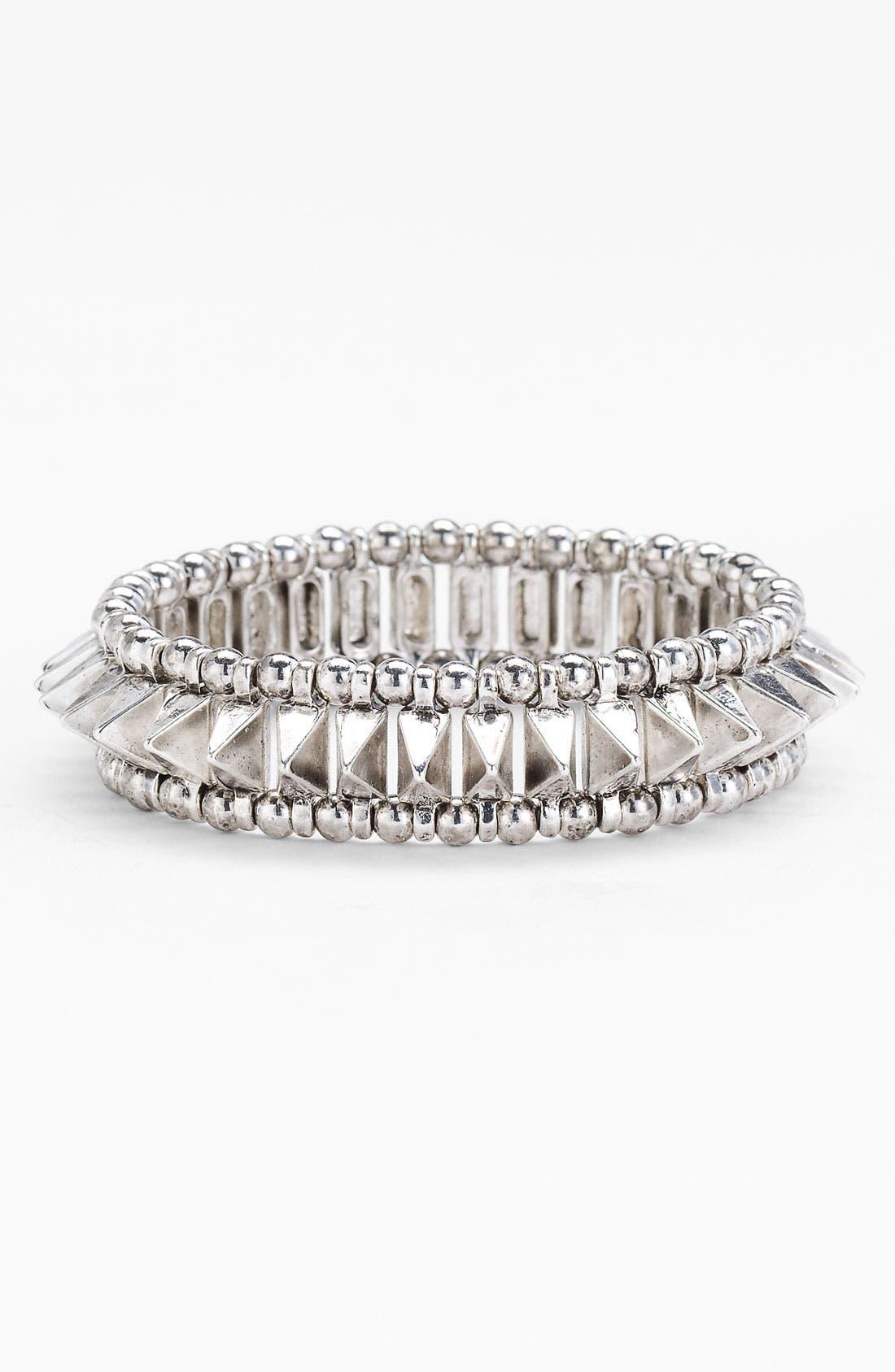Alternate Image 1 Selected - Stephan & Co. Spike Stretch Bracelet