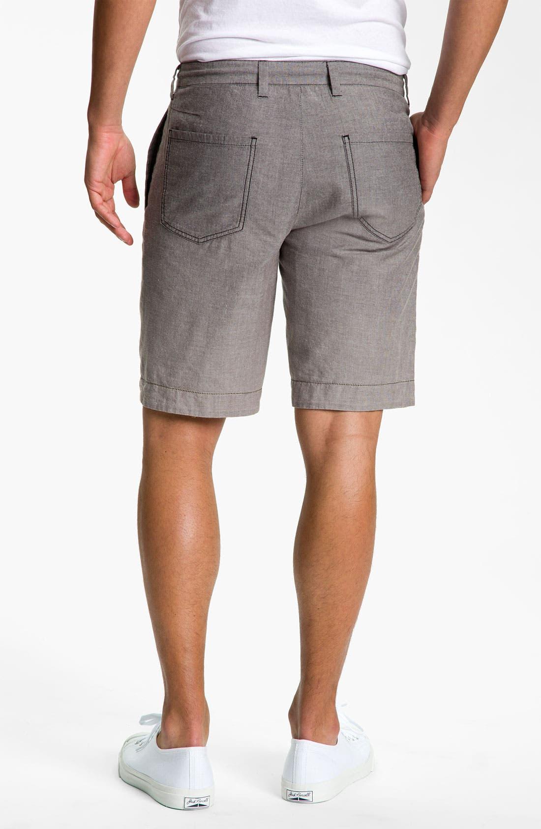 Alternate Image 5  - life/after/denim 'The Tourist' Reversible Shorts