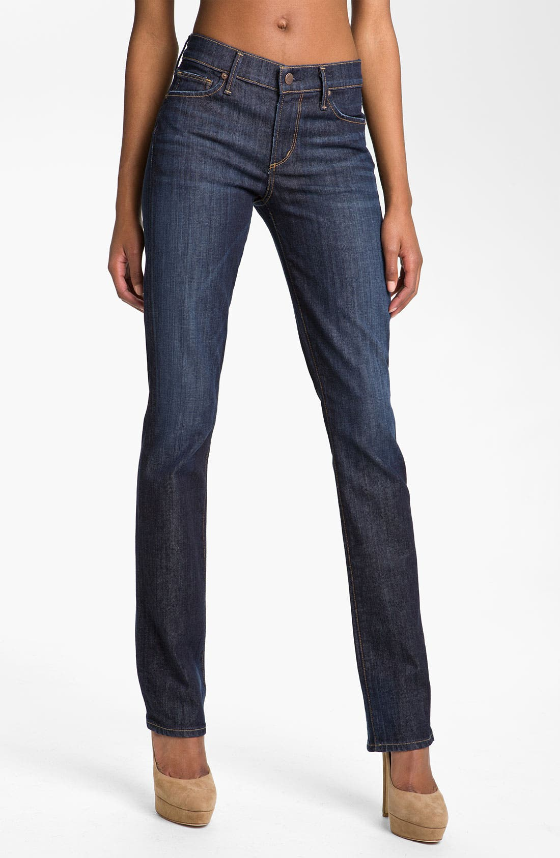 Alternate Image 1 Selected - Citizens of Humanity 'Elson' Straight Leg Jeans (Pacific Blue)