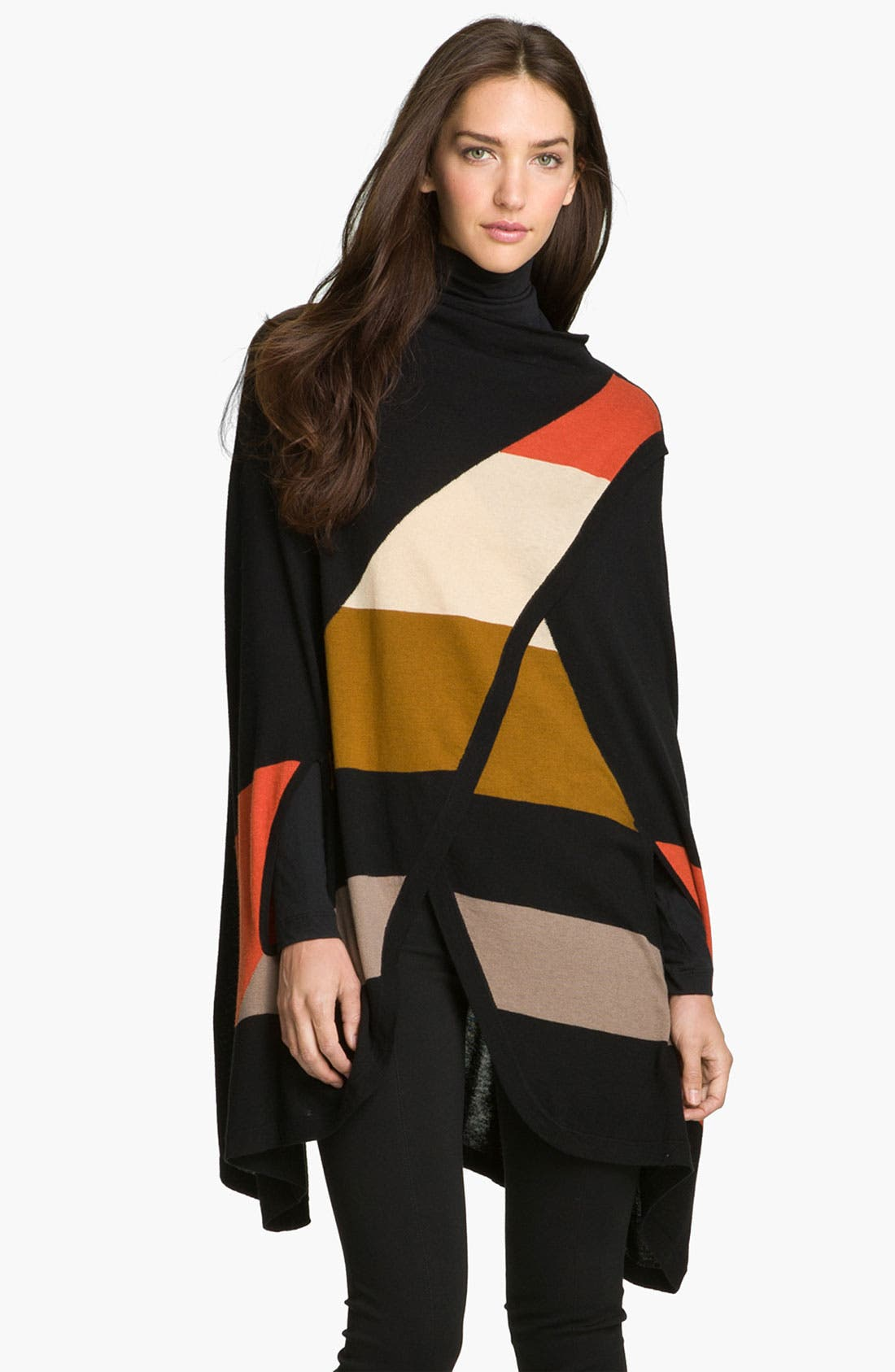 Alternate Image 1 Selected - Halogen® Colorblock Cape