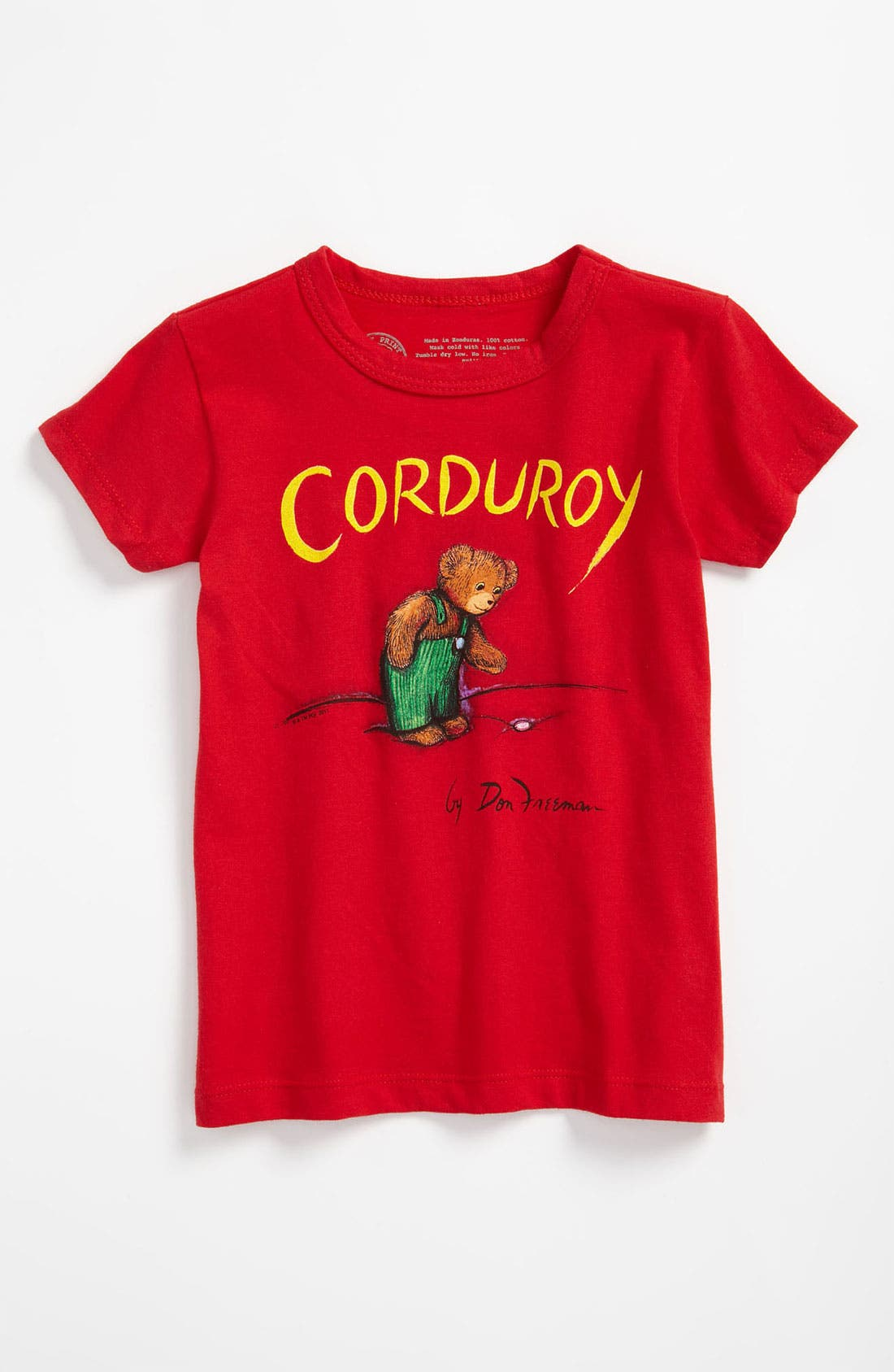 Alternate Image 1 Selected - Out of Print 'Corduroy' T-Shirt (Toddler)