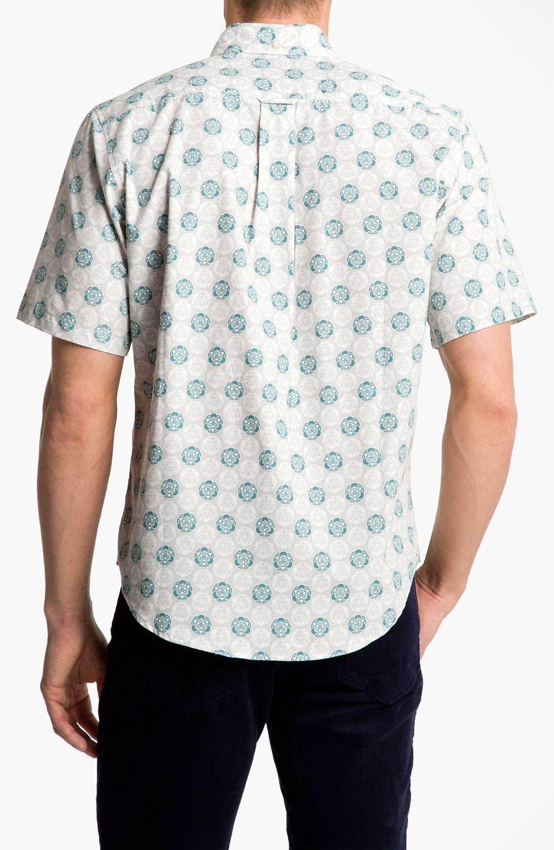 Alternate Image 3  - Reyn Spooner 'Noble Mon' Print Woven Shirt