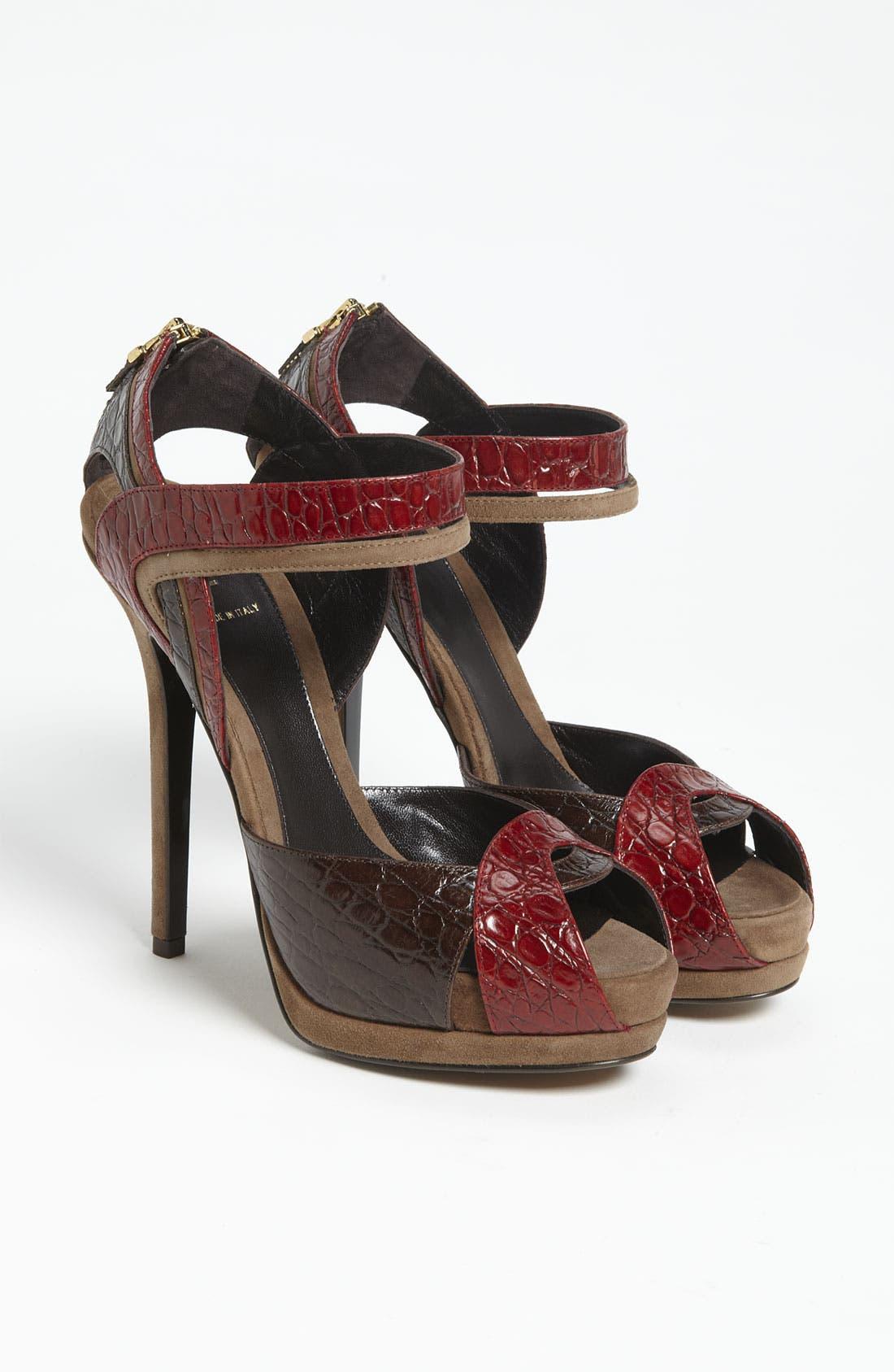 Alternate Image 4  - Fendi 'Let Me In' Ankle Strap Sandal