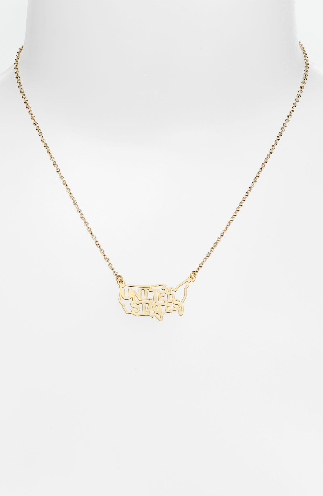 Alternate Image 1 Selected - Kris Nations 'USA' Necklace